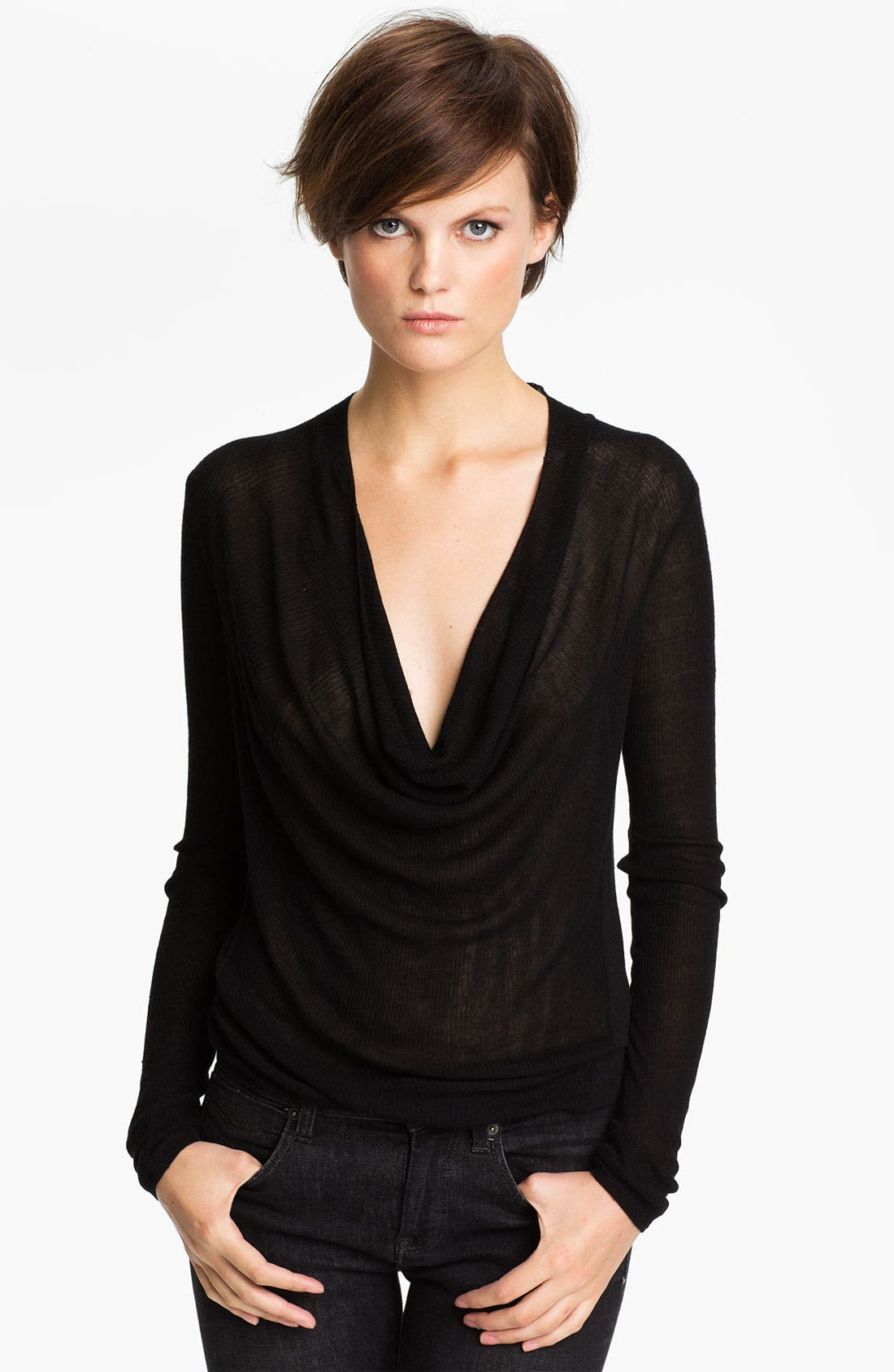 Alternate Image 1 Selected - autumn cashmere Cowl Neck Top