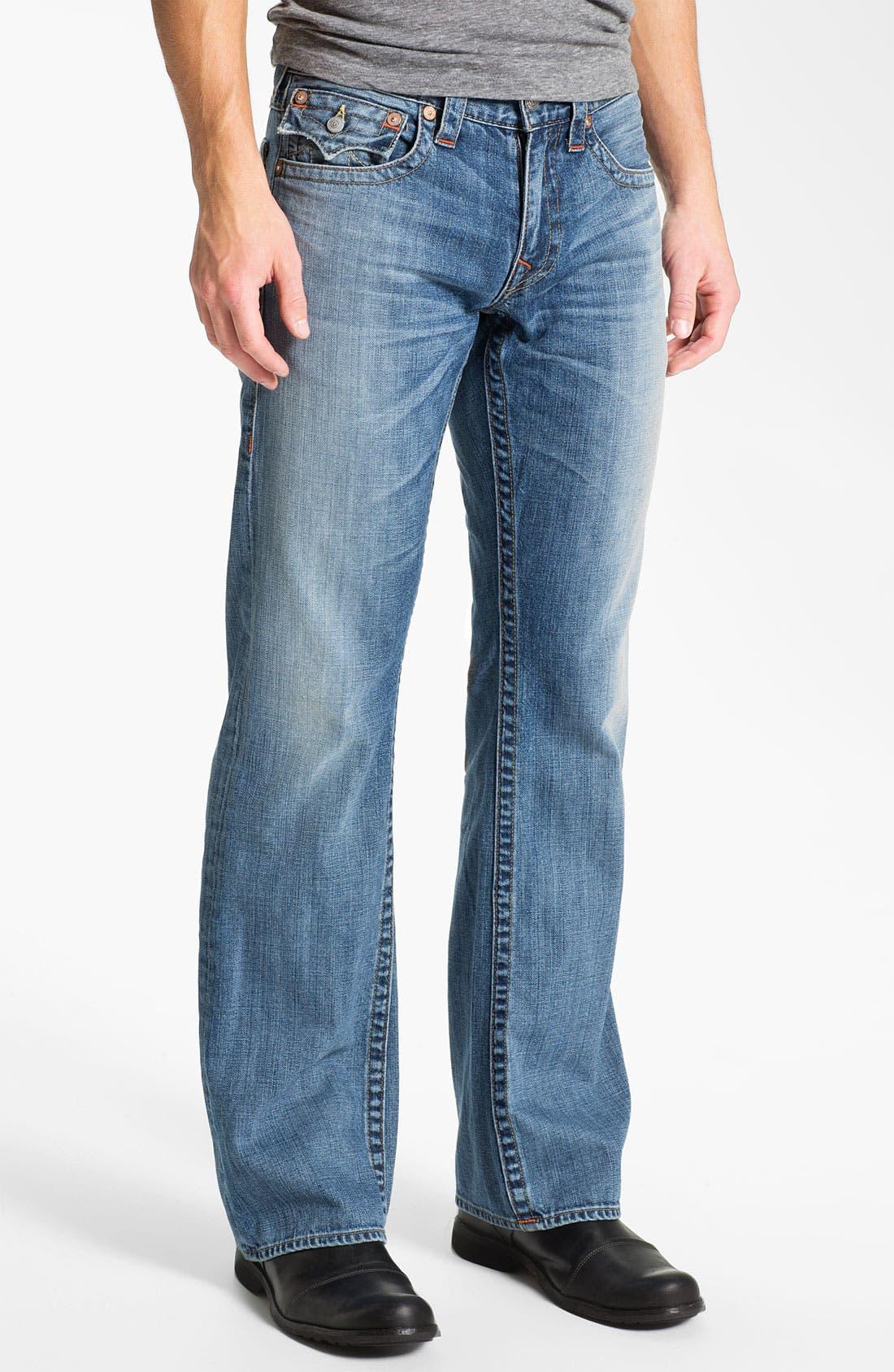 Alternate Image 2  - True Religion Brand Jeans 'Billy' Bootcut Jeans (Vam Shade Horizon)