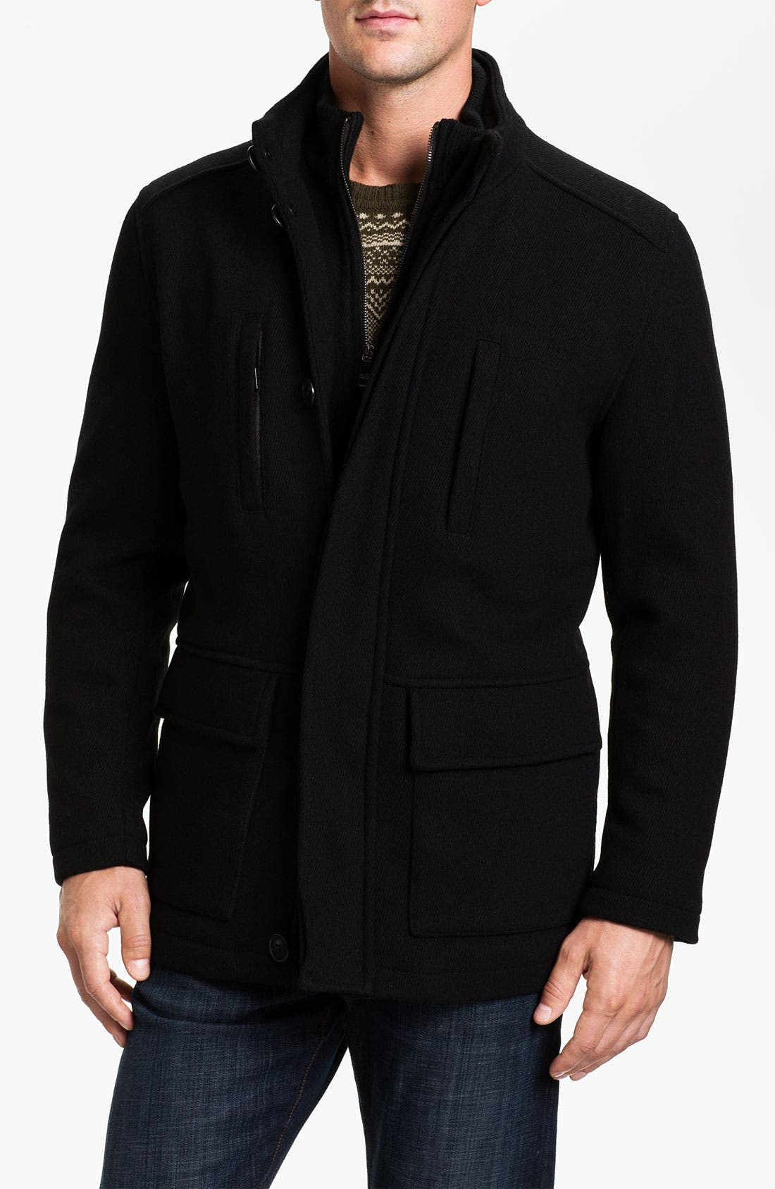 Alternate Image 1 Selected - Marc New York by Andrew Marc 'Keenan' Wool Blend Jacket