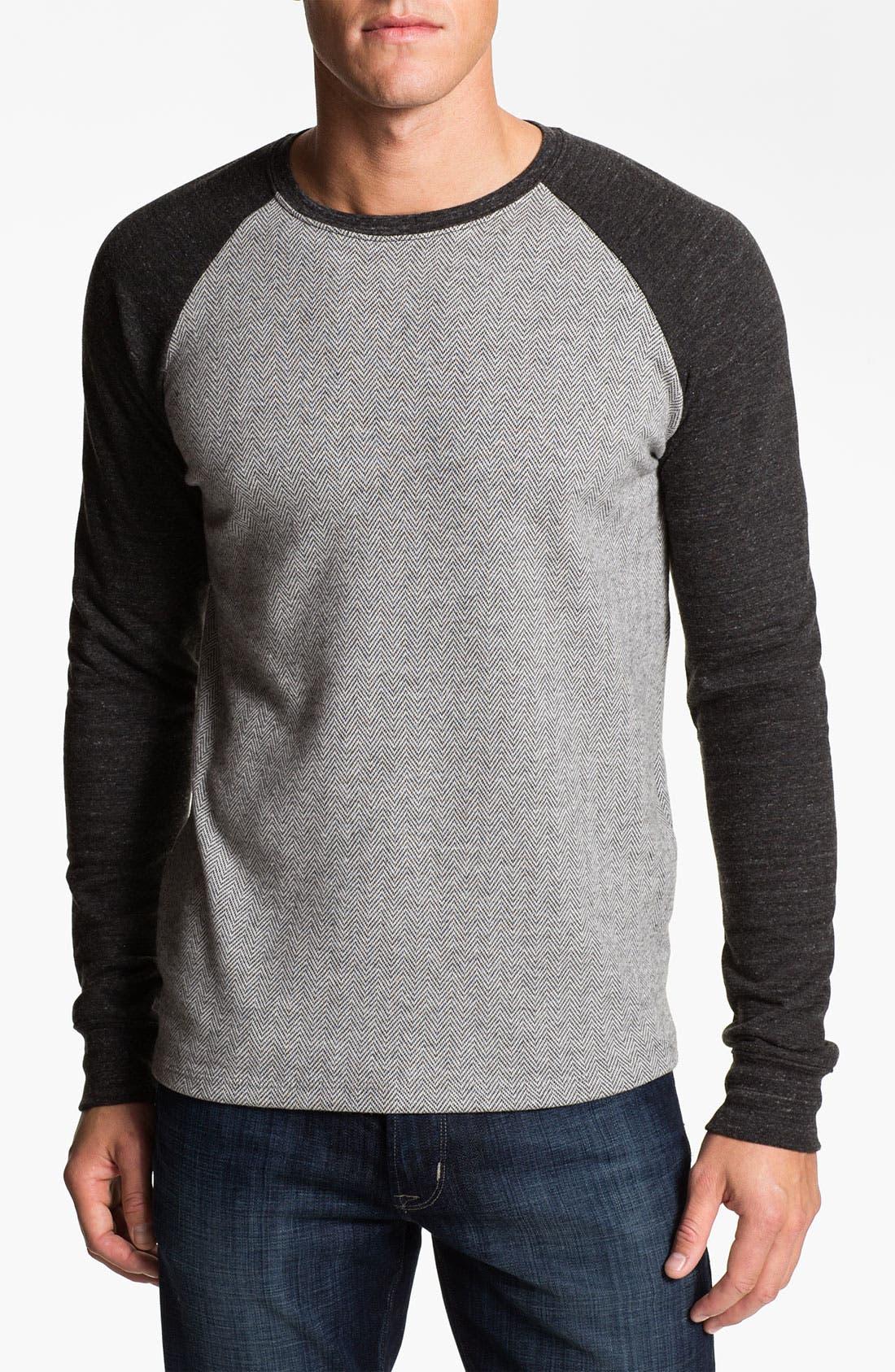 Main Image - Threads for Thought Herringbone Sweatshirt