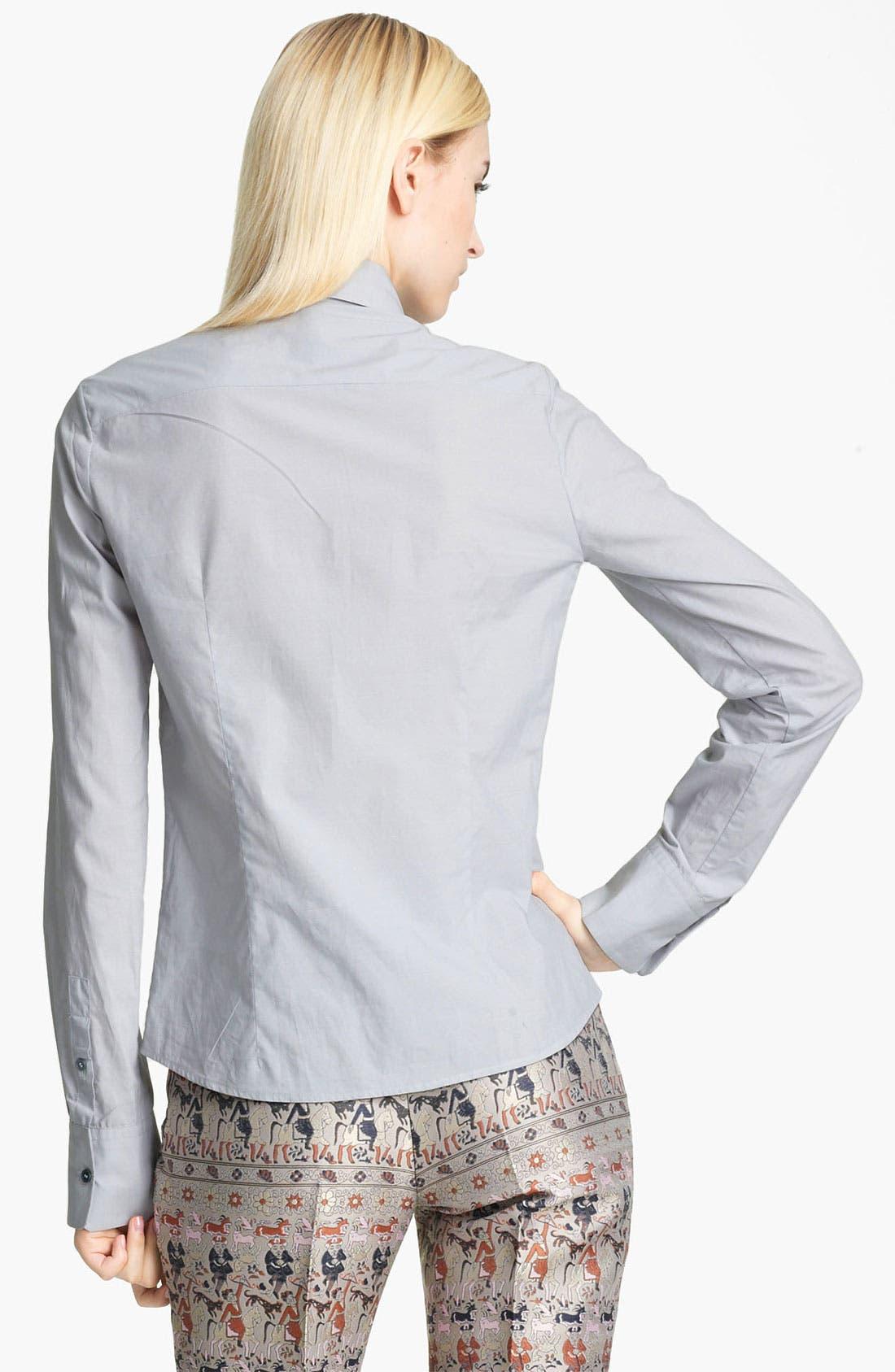 Alternate Image 2  - Jil Sander Navy Contrast Shirt