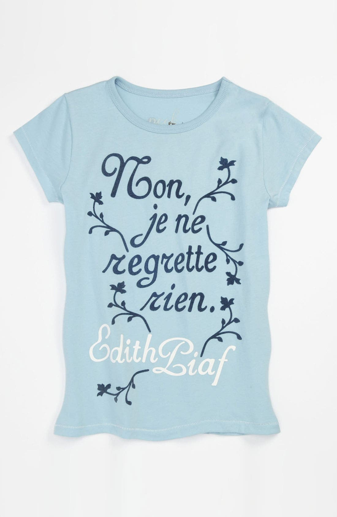 Main Image - Peek 'Piaf' Tee (Toddler, Little Girls & Big Girls)