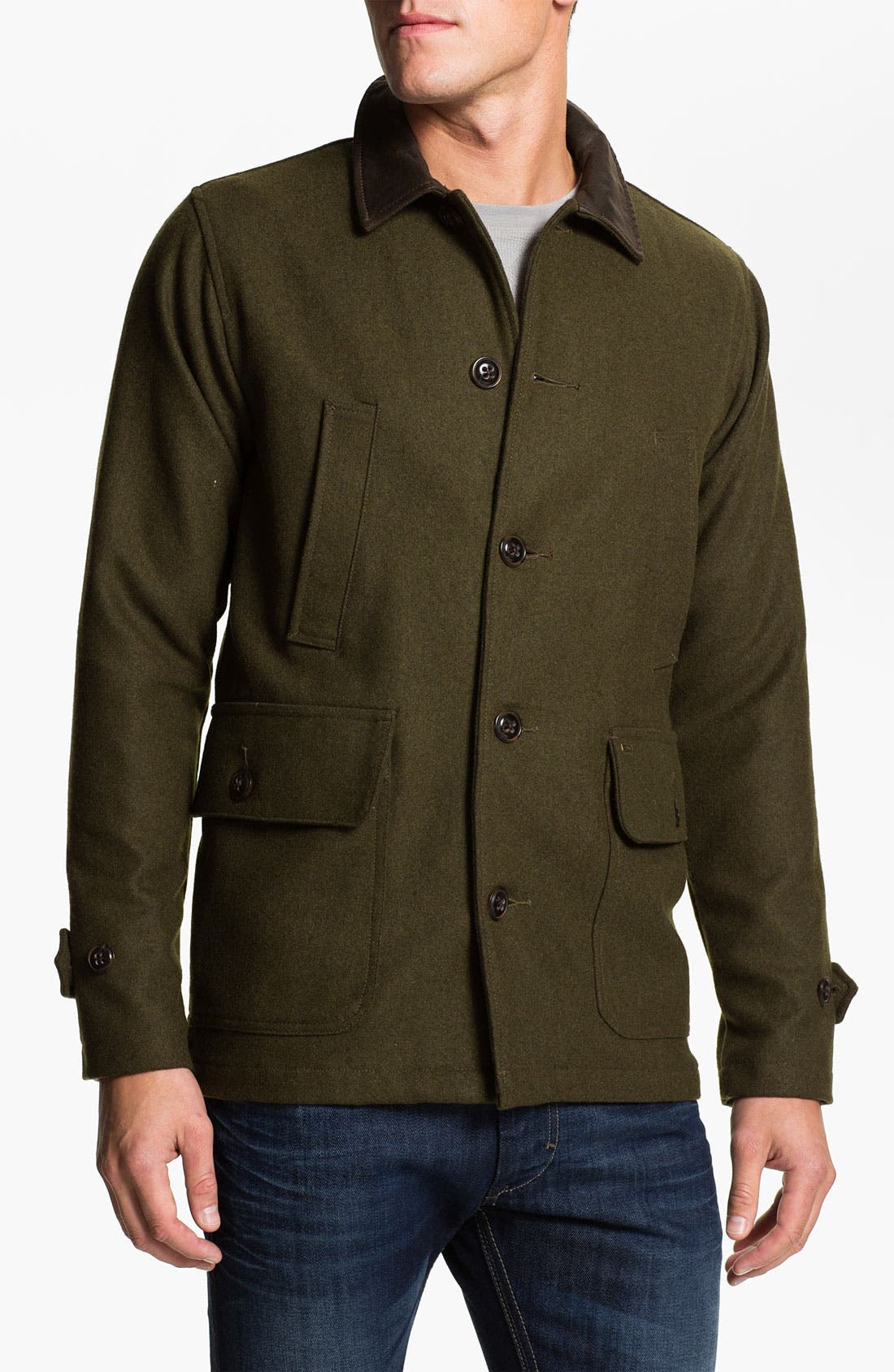 Alternate Image 1 Selected - Obey 'Berlin' Wool Blend Jacket