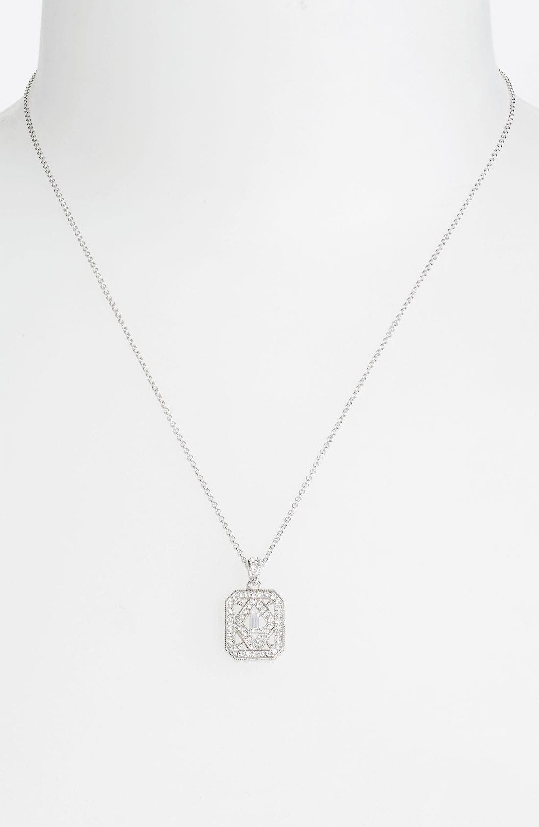 Main Image - Nadri 'Art Deco' Pendant Necklace
