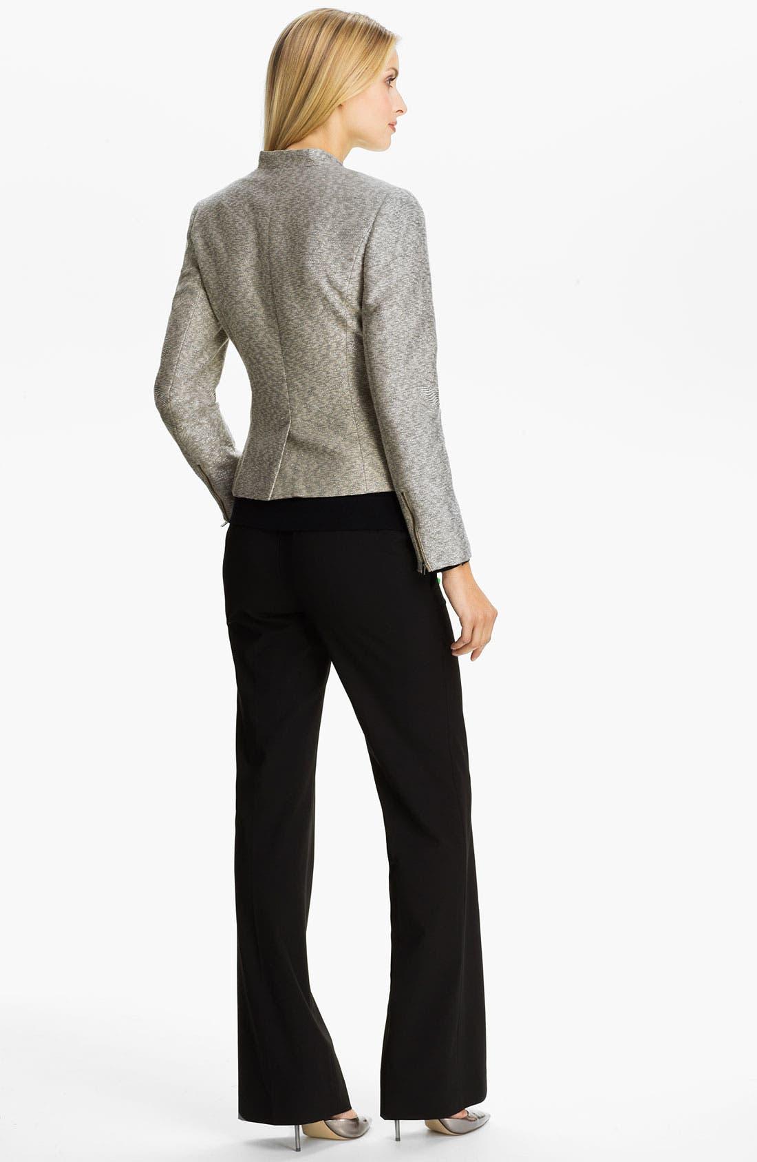 Alternate Image 5  - Classiques Entier® Metallic Weave Jacket