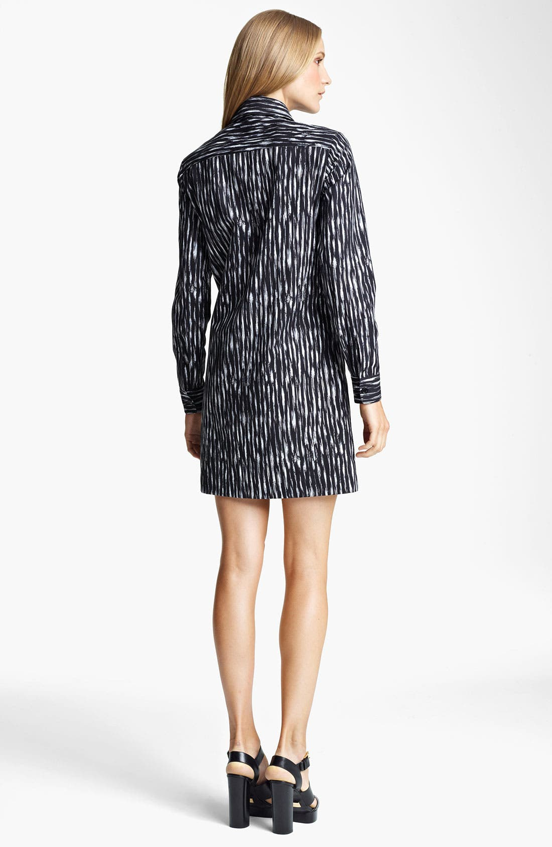 Alternate Image 2  - Michael Kors Ikat Print Poplin Tunic Dress