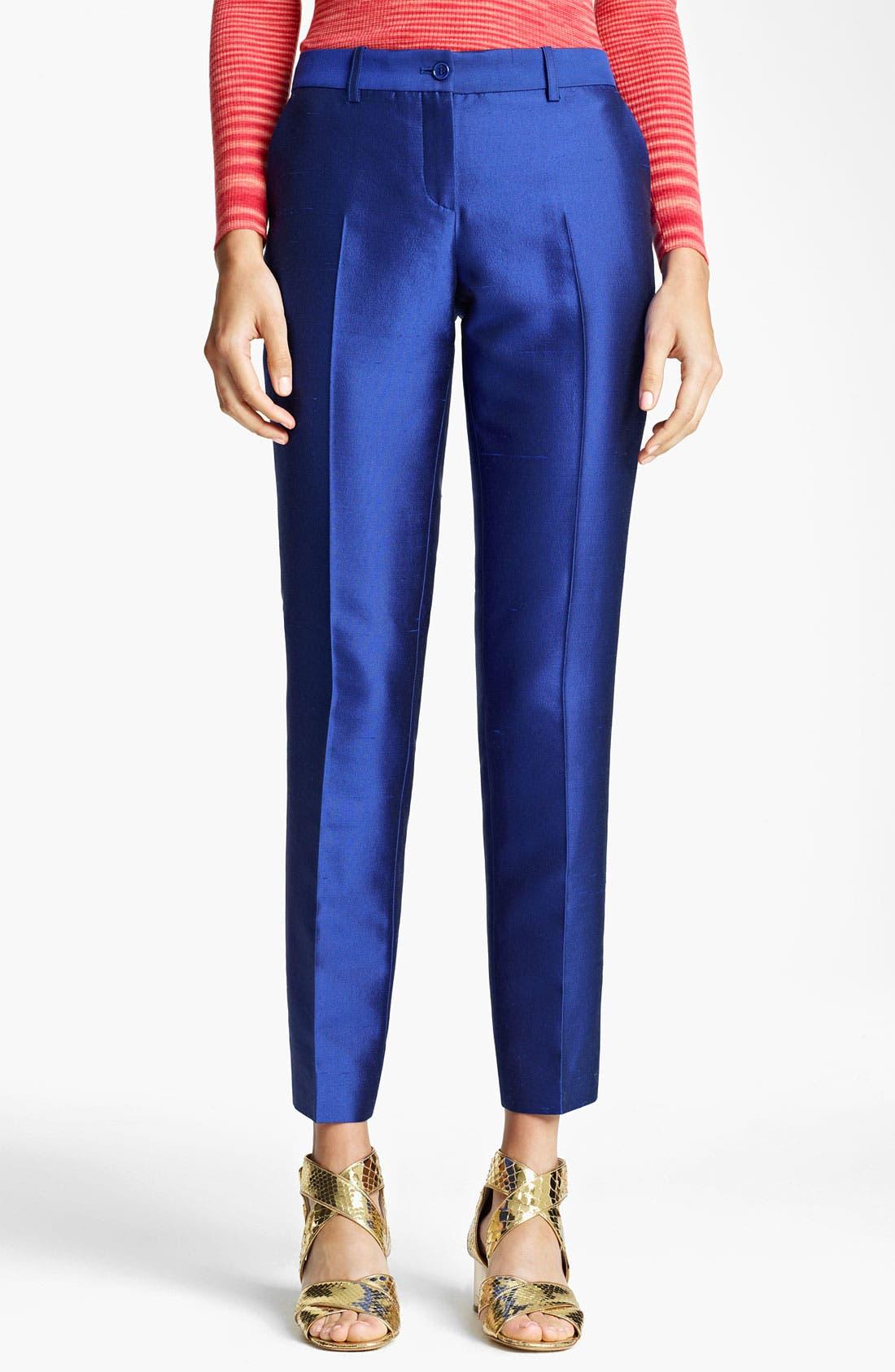 Alternate Image 1 Selected - Michael Kors Shantung Pants