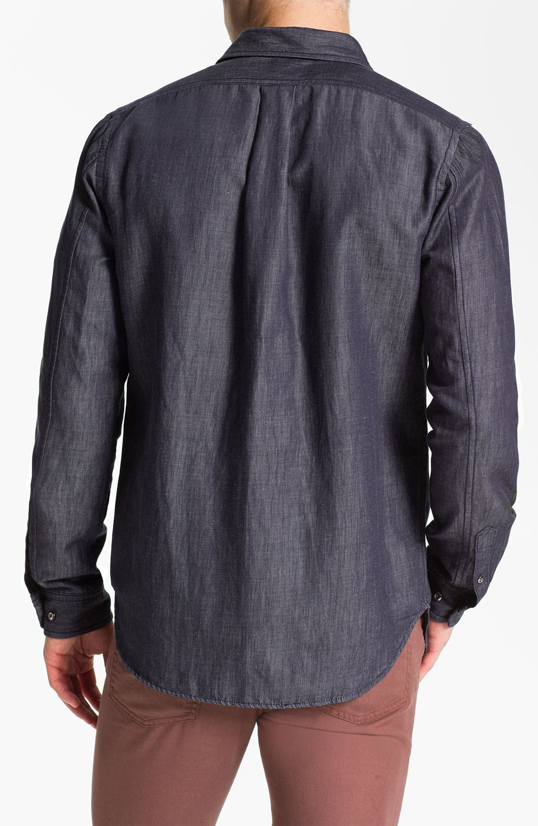 Alternate Image 2  - MARC BY MARC JACOBS 'Leo' Trim Fit Chambray Shirt