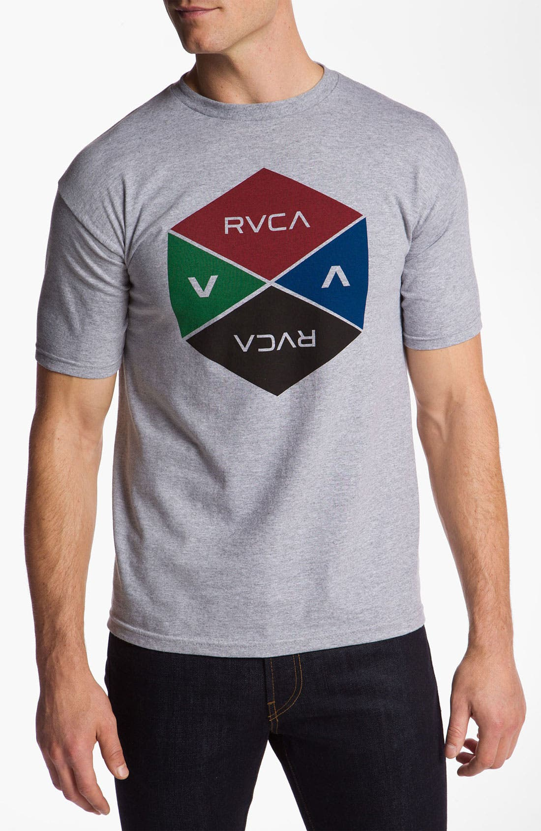 Alternate Image 1 Selected - RVCA 'Hexy' T-Shirt