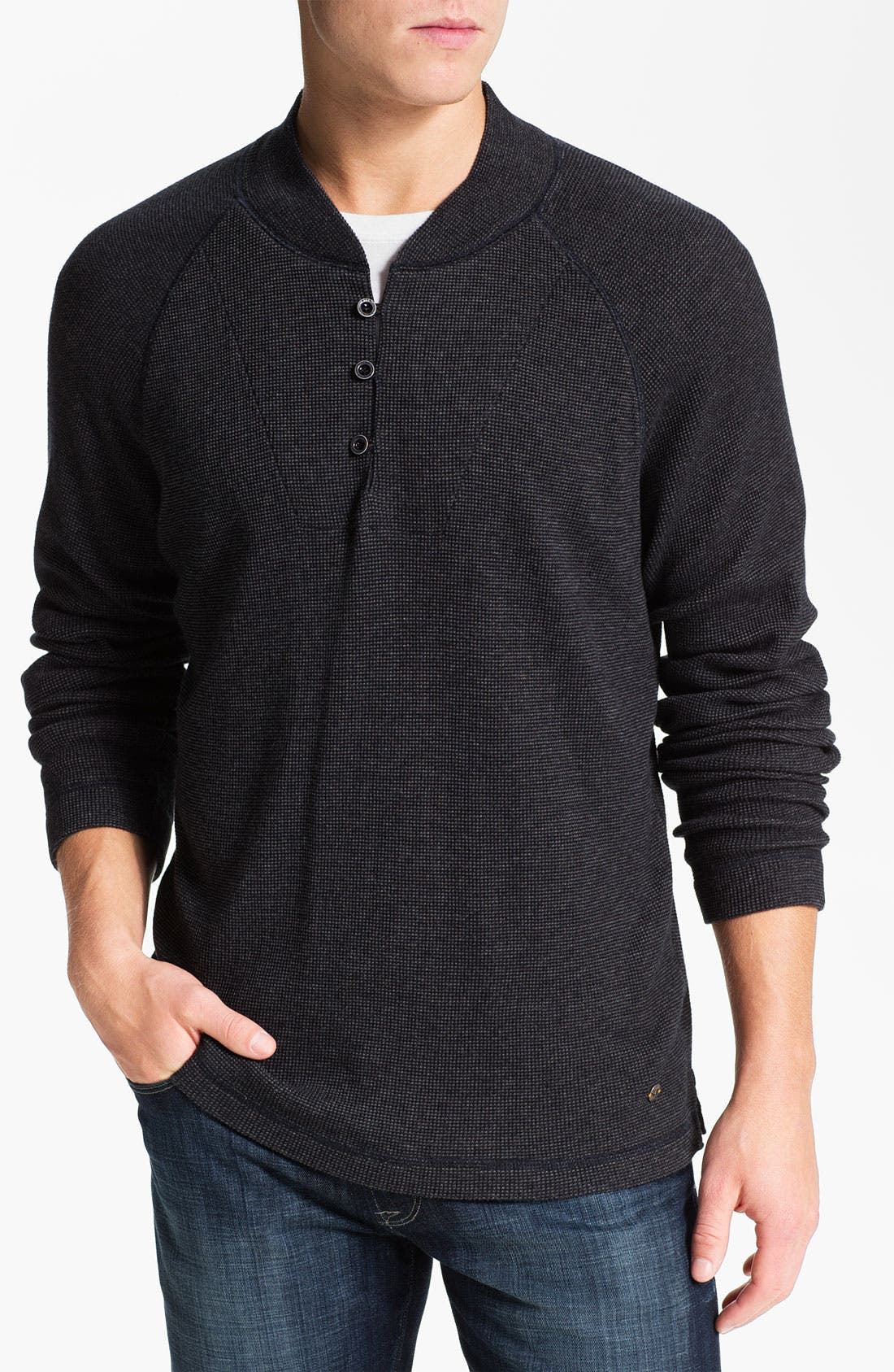 Alternate Image 1 Selected - BOSS Orange 'Wire' Thermal Henley