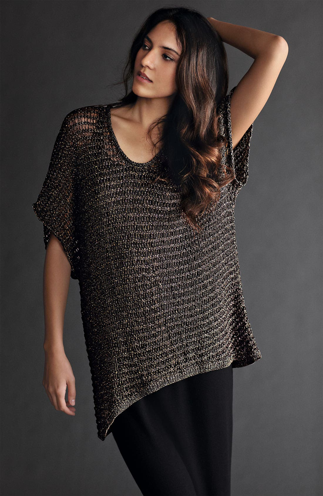 Alternate Image 6  - Eileen Fisher Sparkle Mesh Tunic