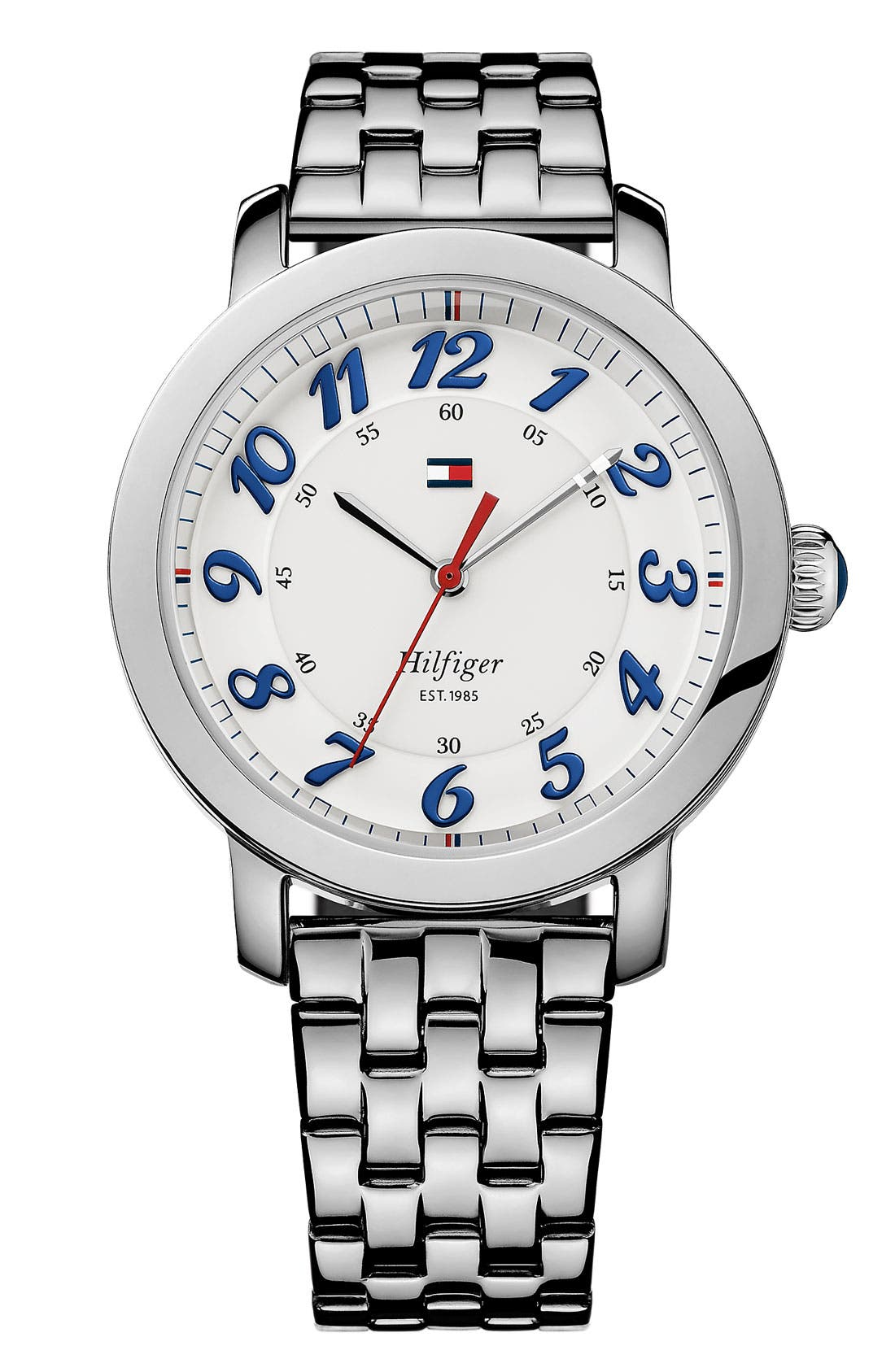 Main Image - Tommy Hilfiger Round Bracelet Watch, 38mm