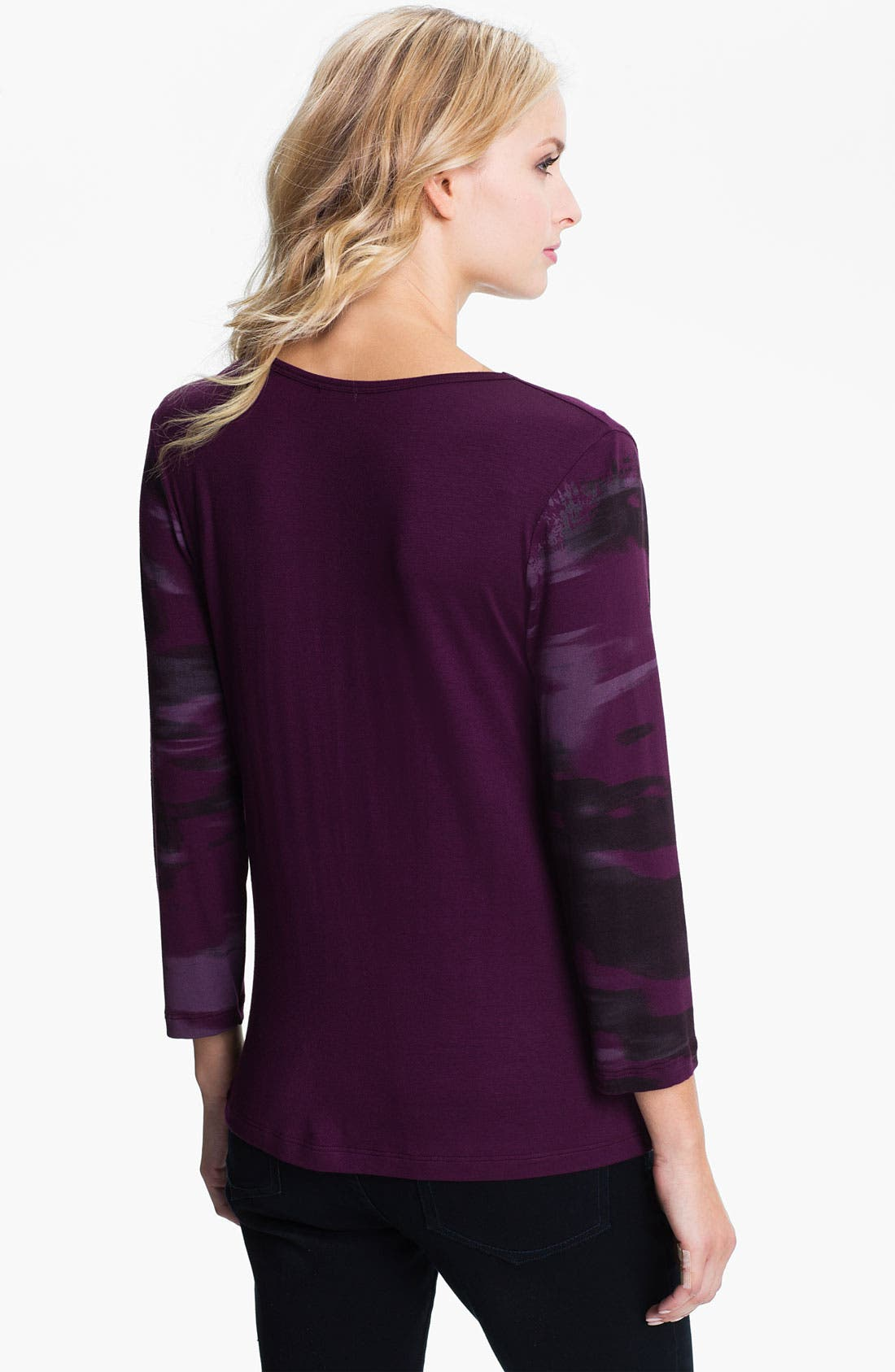Alternate Image 2  - Edista Drape Neck Top