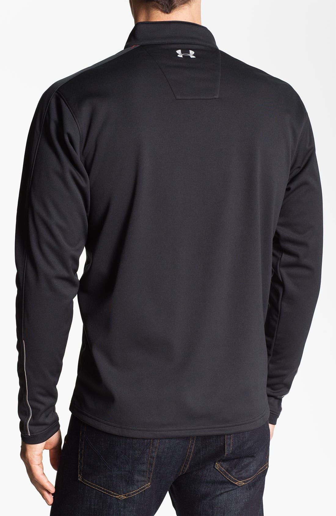 Alternate Image 2  - Under Armour 'ColdGear® Elements - Storm' Quarter Zip Jacket