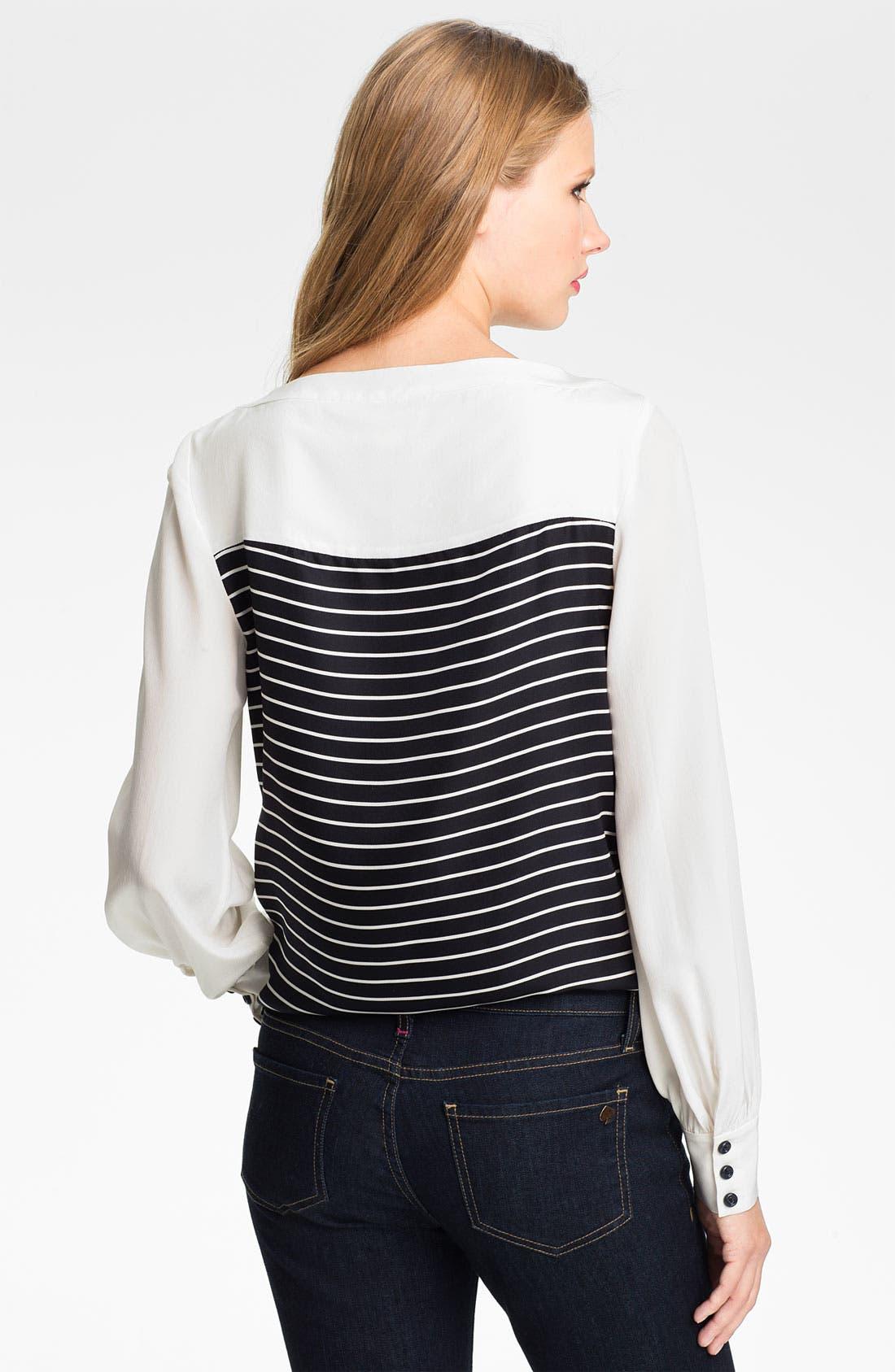 Alternate Image 2  - kate spade new york 'leanne' silk blouse