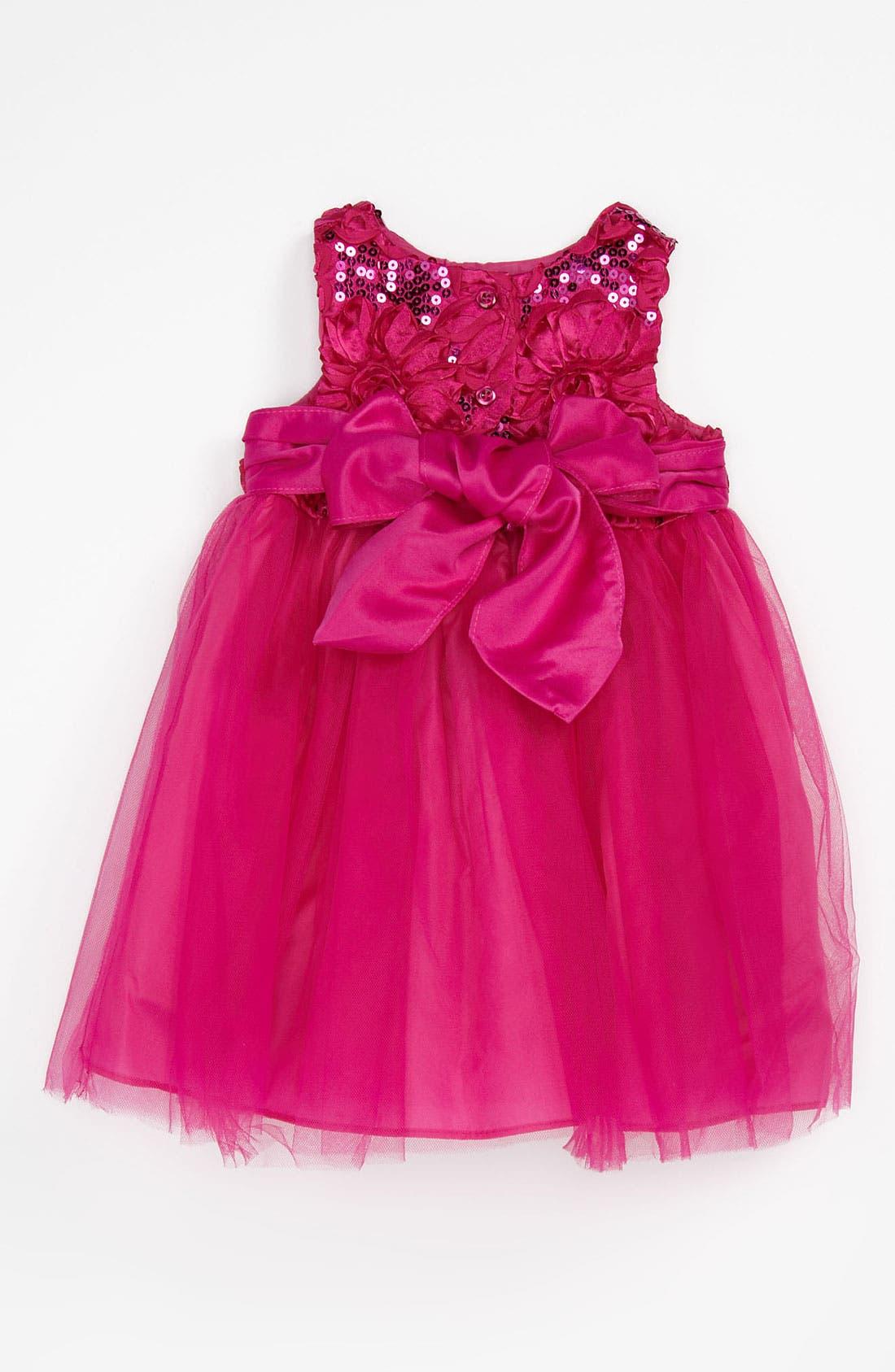 Alternate Image 2  - Pippa & Julie Sequin Ballerina Dress (Toddler)