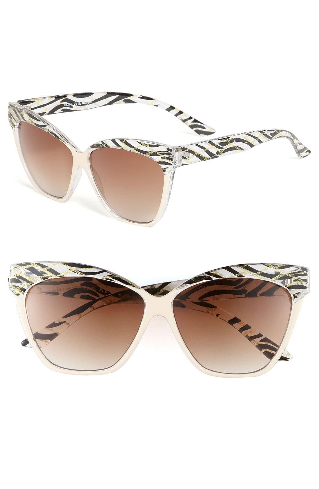 Main Image - A.J. Morgan 60mm 'Versailles' Sunglasses