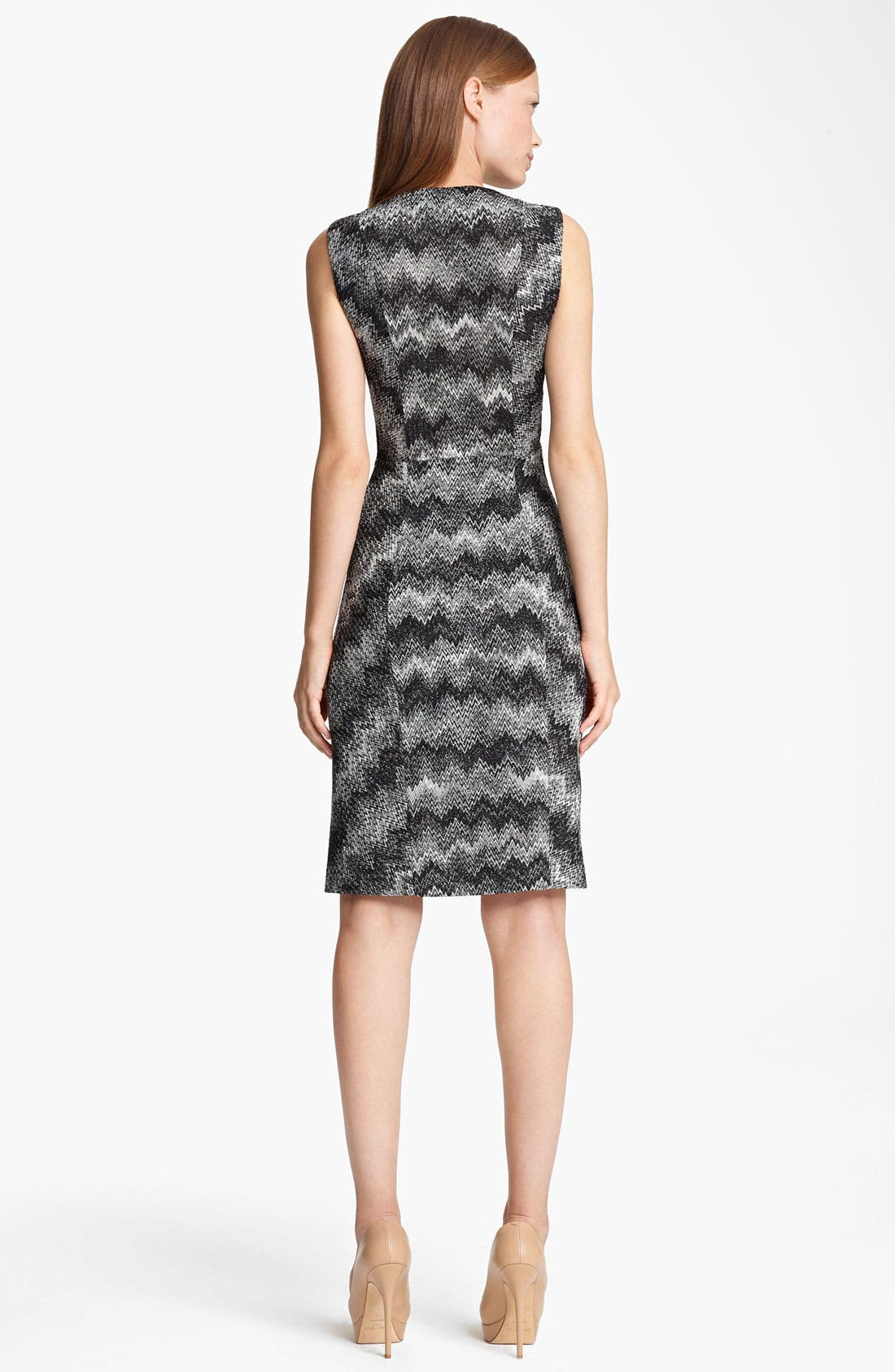 Alternate Image 2  - Missoni Snake Stitch Faux Wrap Dress