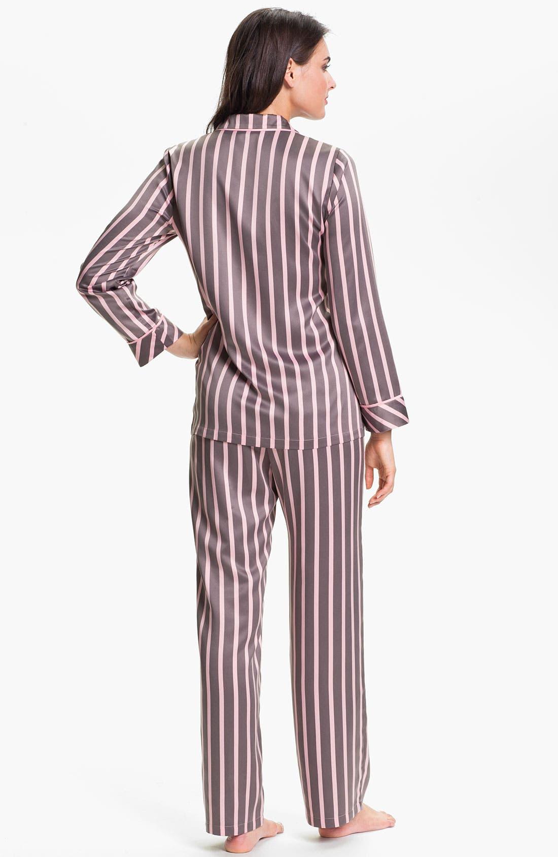 Alternate Image 2  - Nordstrom 'Glam' Satin Pajamas