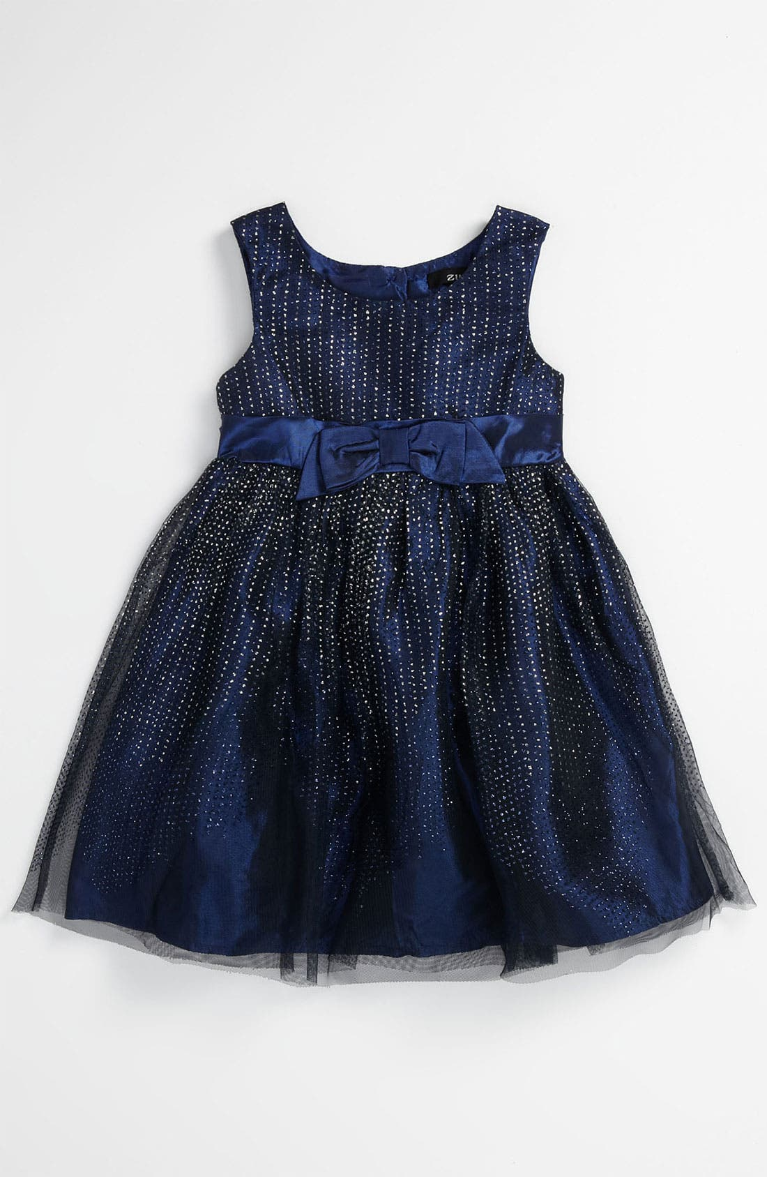 Alternate Image 1 Selected - Zunie Studded Dress (Toddler)