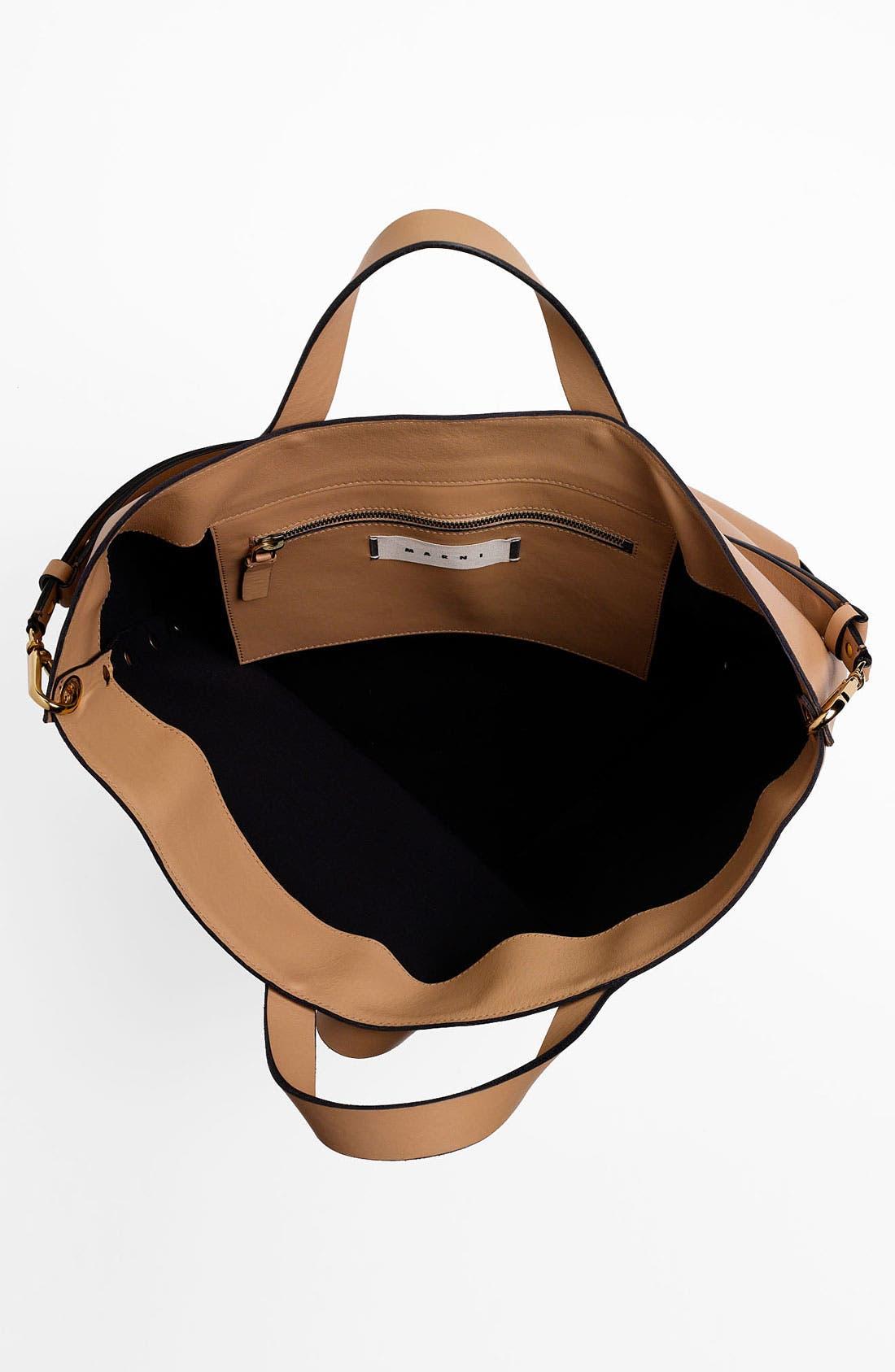 Alternate Image 3  - Marni 'Large' Studded Leather Tote