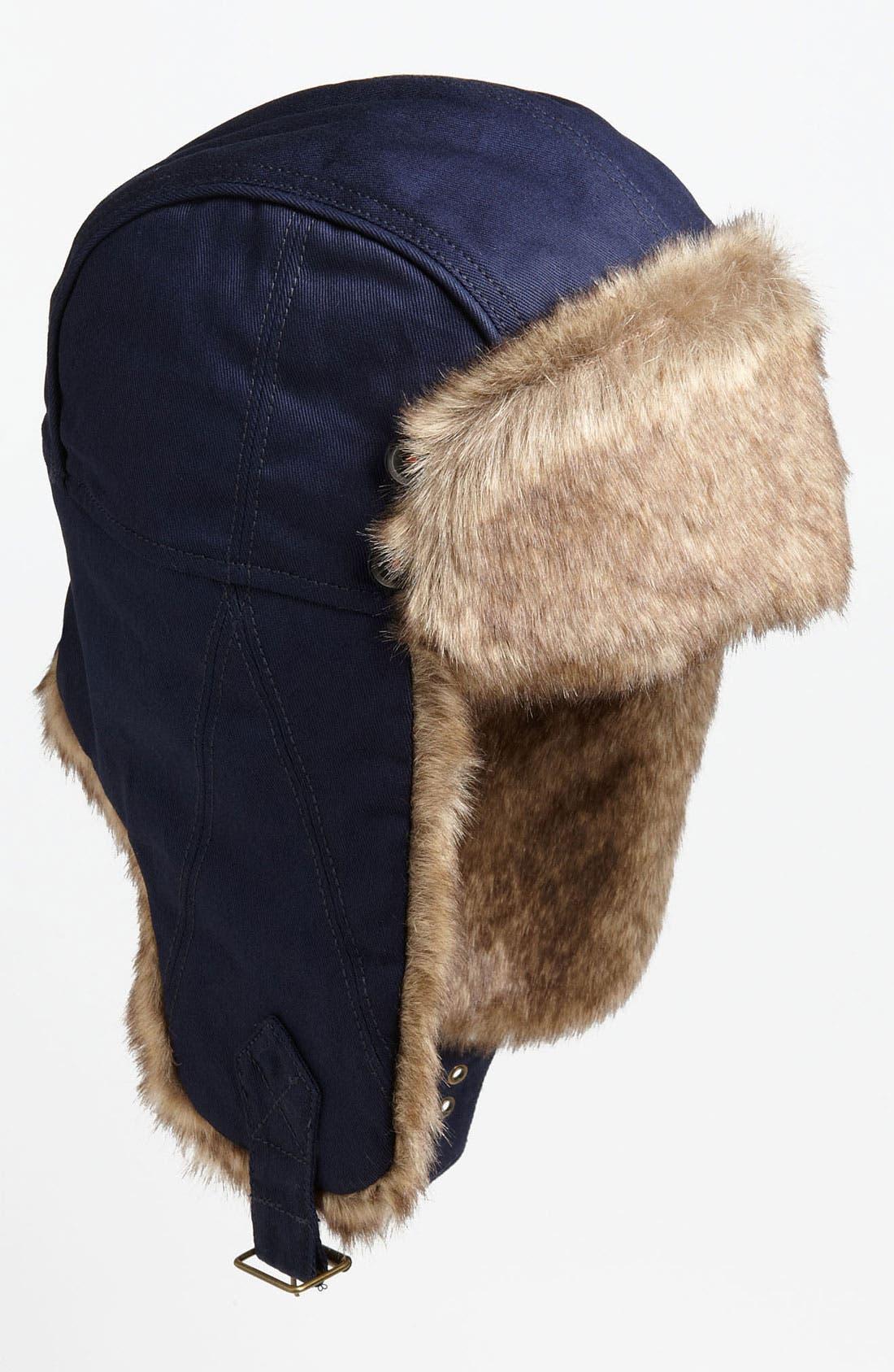 Main Image - Ted Baker London Faux Fur Trapper Hat