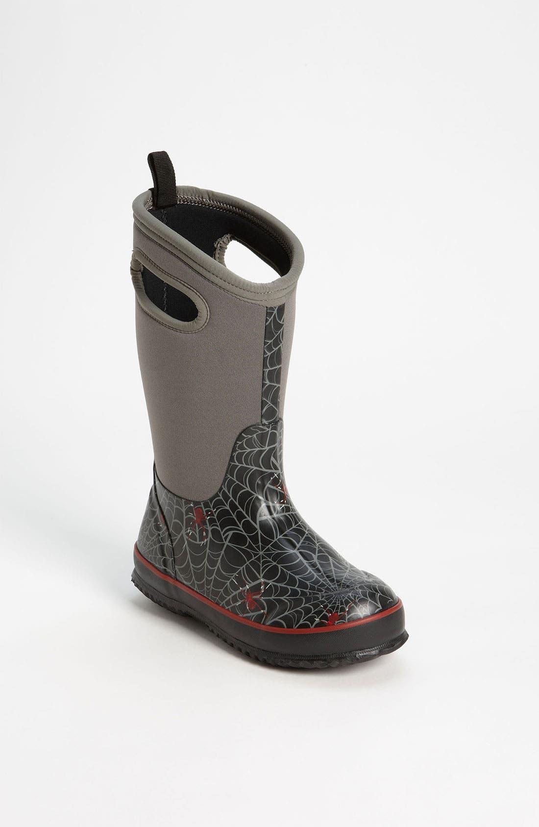 Main Image - Bogs 'Classic High - Spiders' Waterproof Boot (Toddler, Little Kid, & Big Kid)