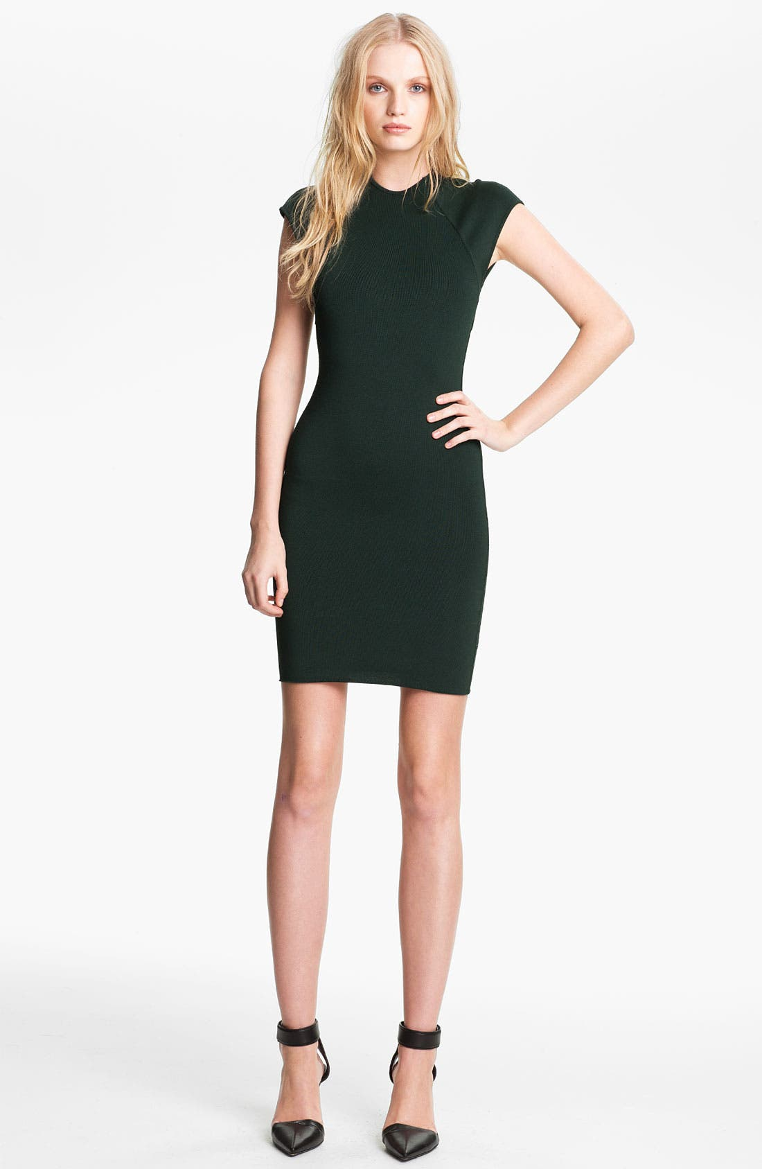 Alternate Image 1 Selected - Alexander Wang Zip Detail Dress