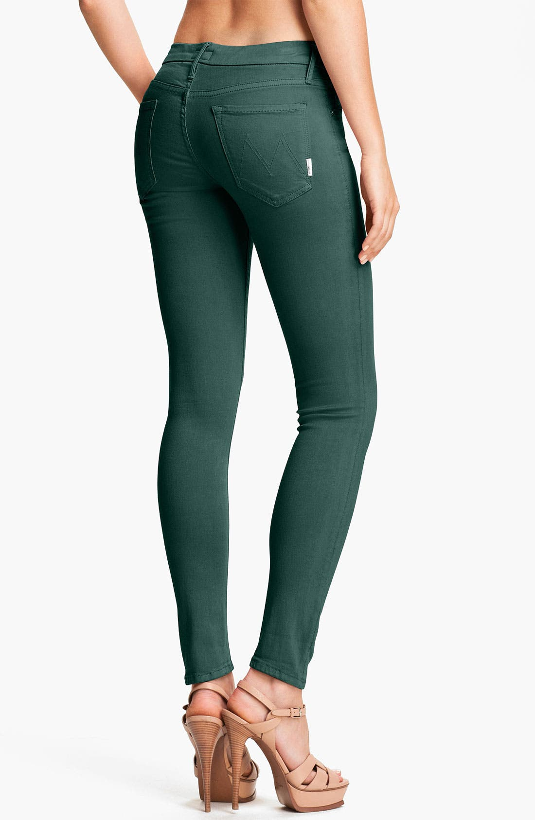 Alternate Image 2  - MOTHER 'The Looker' Skinny Stretch Jeans