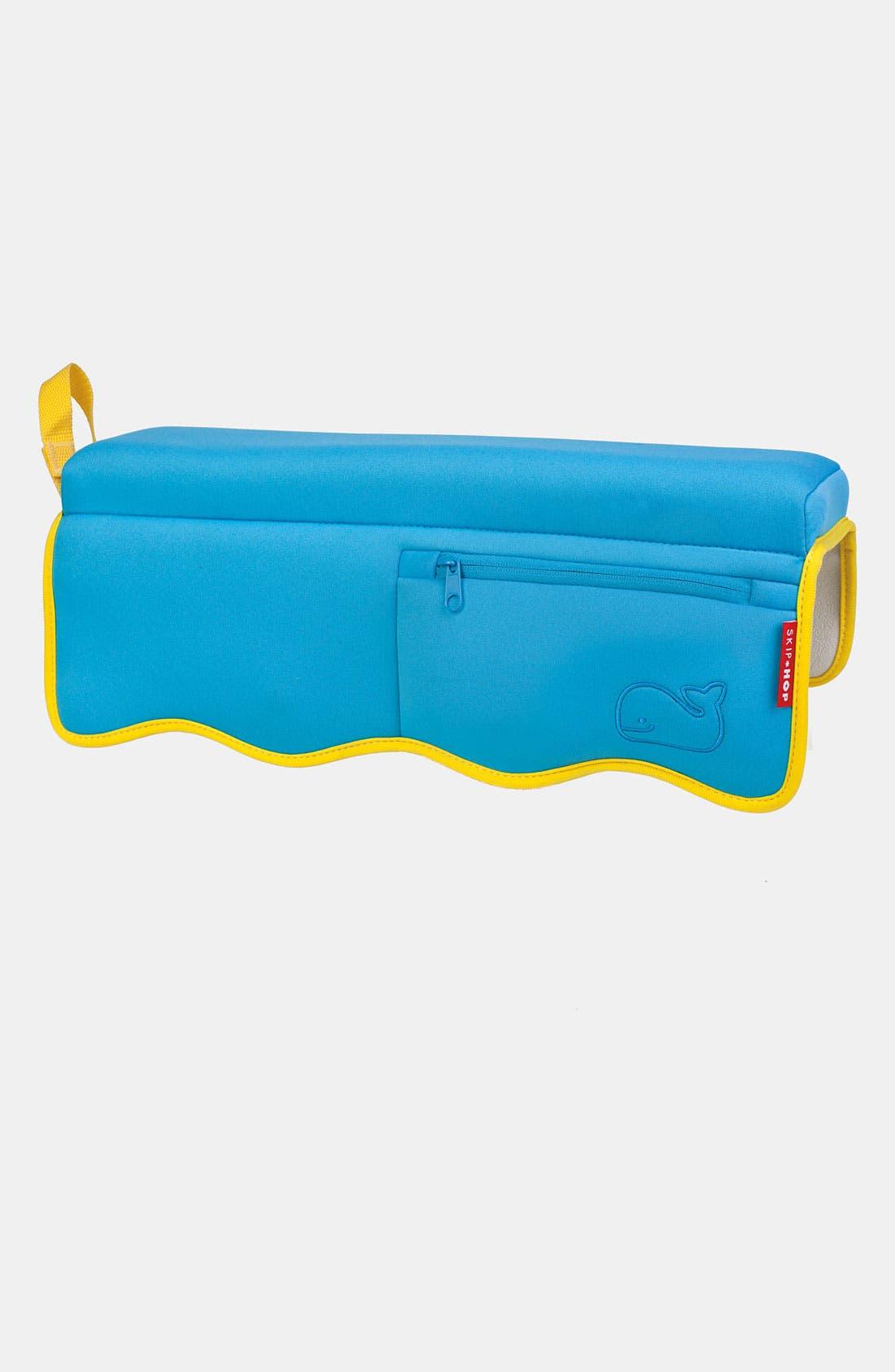 'Moby' Bathtub Elbow Rest,                         Main,                         color, Blue