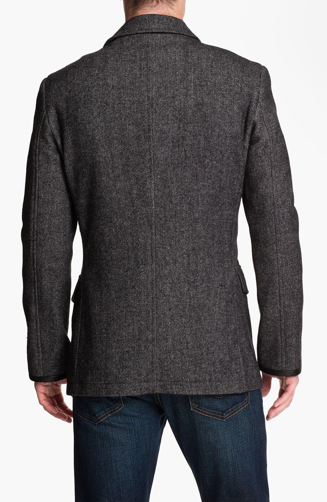 Alternate Image 2  - John Varvatos Star USA 'Military Luxe' Wool Blend Jacket