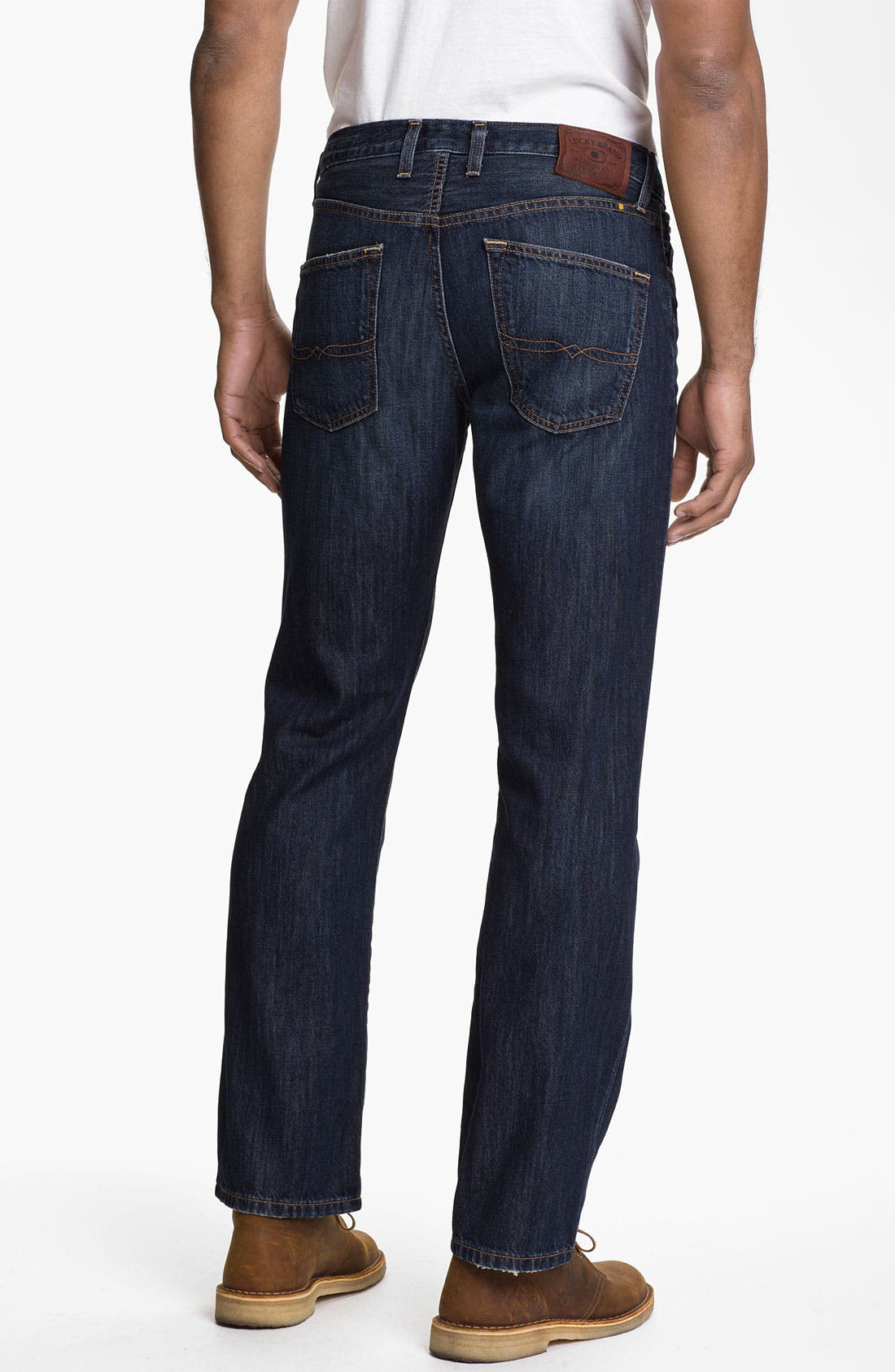 Alternate Image 2  - Lucky Brand '221 Original' Straight Leg Jeans (Capistrano)