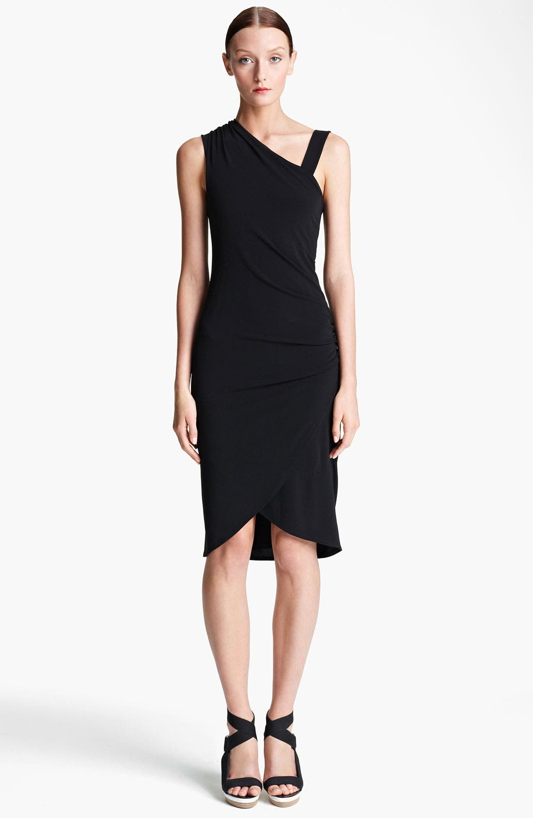 Main Image - Lida Baday Draped Stretch Jersey Dress