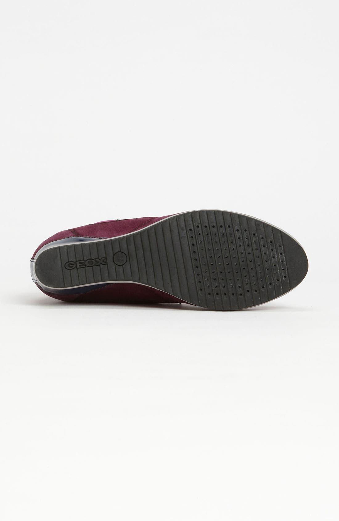 Alternate Image 4  - Geox 'D Illusion' High Top Wedge Sneaker