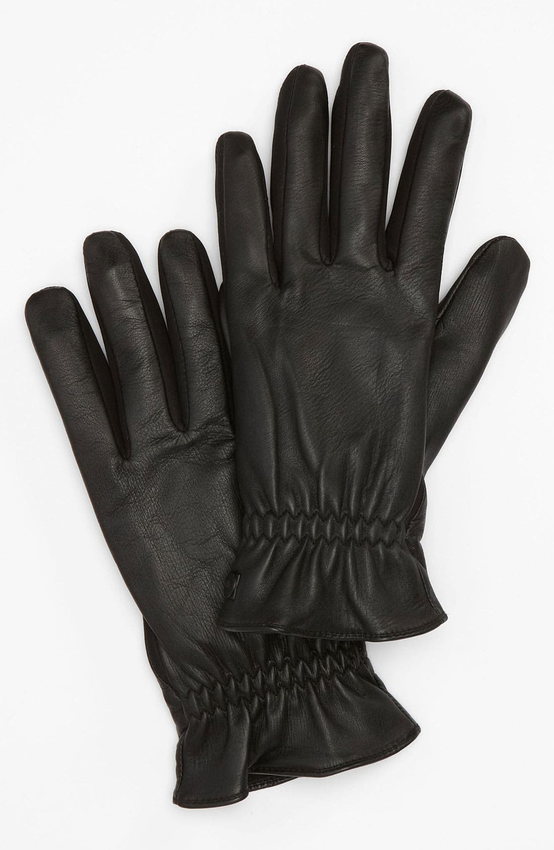 Alternate Image 1 Selected - U|R Leather Gloves