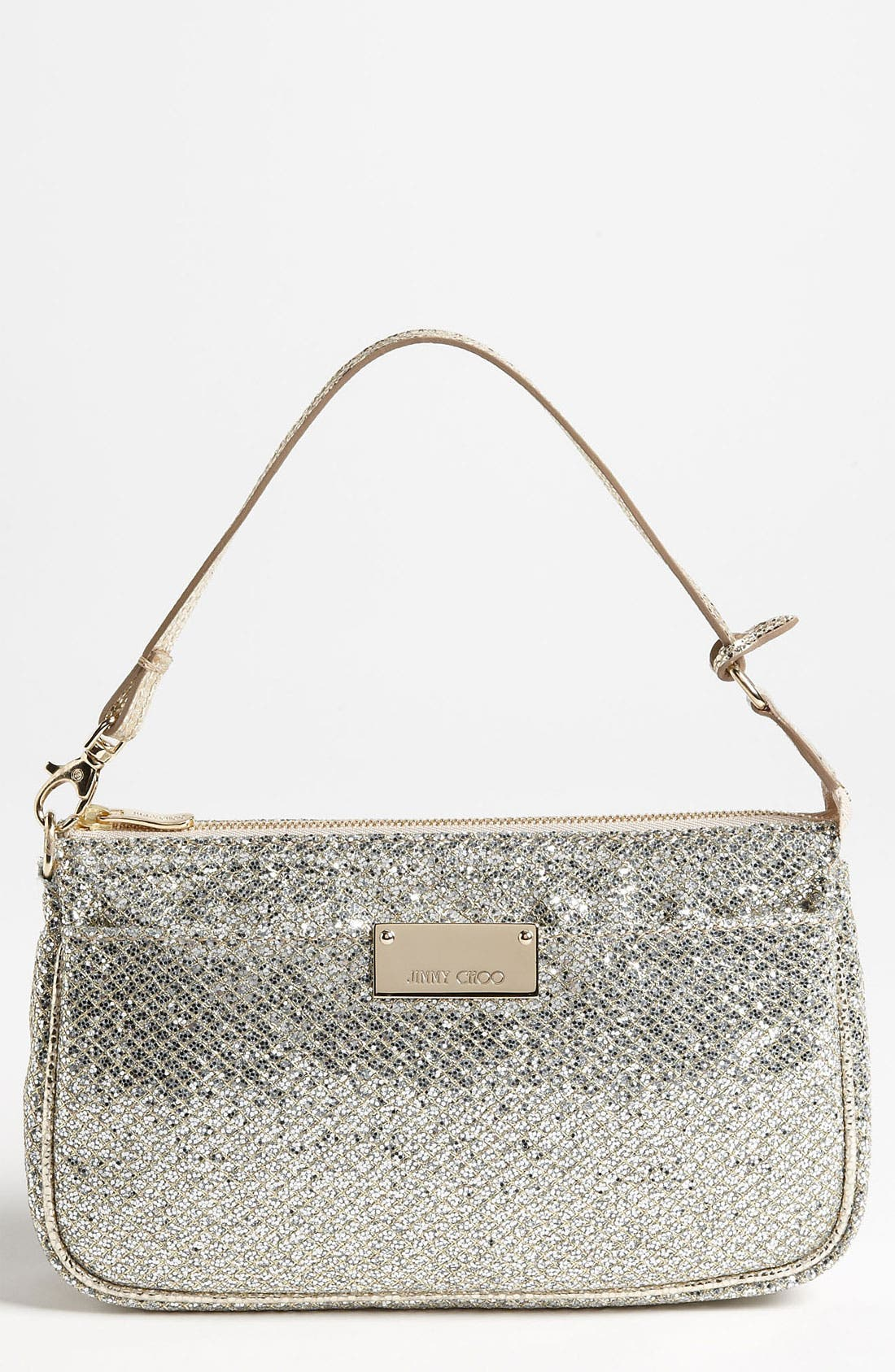 Alternate Image 1 Selected - Jimmy Choo 'Rella' Glitter Clutch