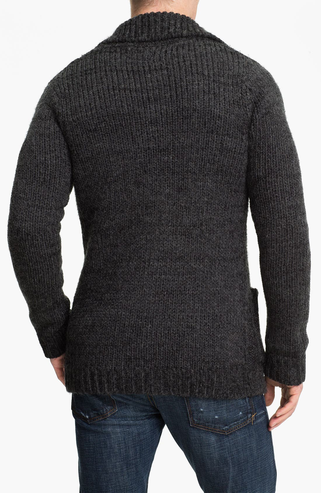 Alternate Image 2  - J.C. Rags Cable Knit Cardigan