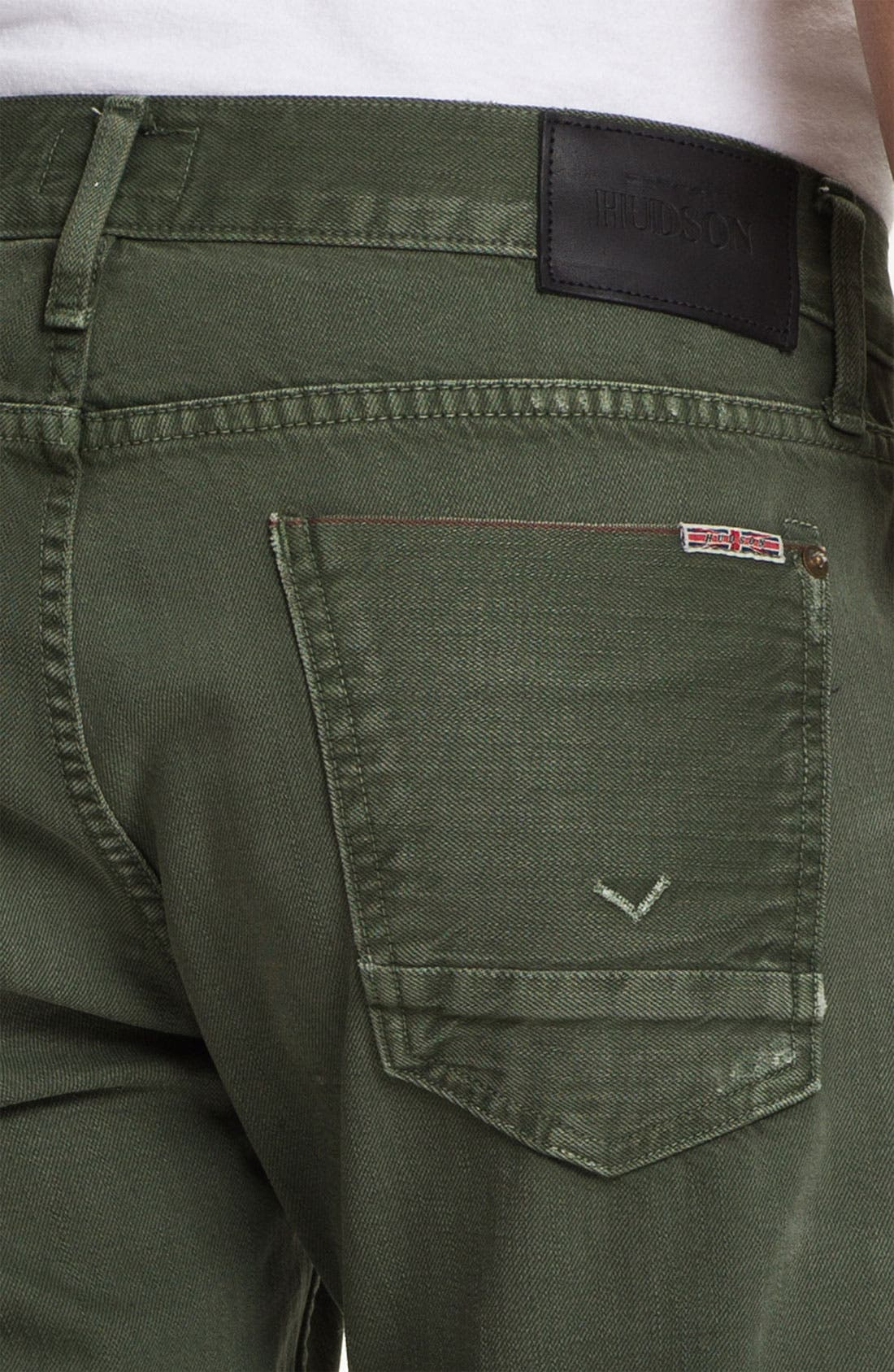 Alternate Image 4  - Hudson Jeans 'Byron' Selvedge Jeans (Entourage)