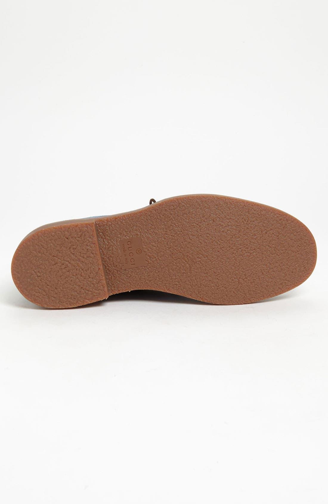 Alternate Image 4  - Gucci 'Moreau' Chukka Boot