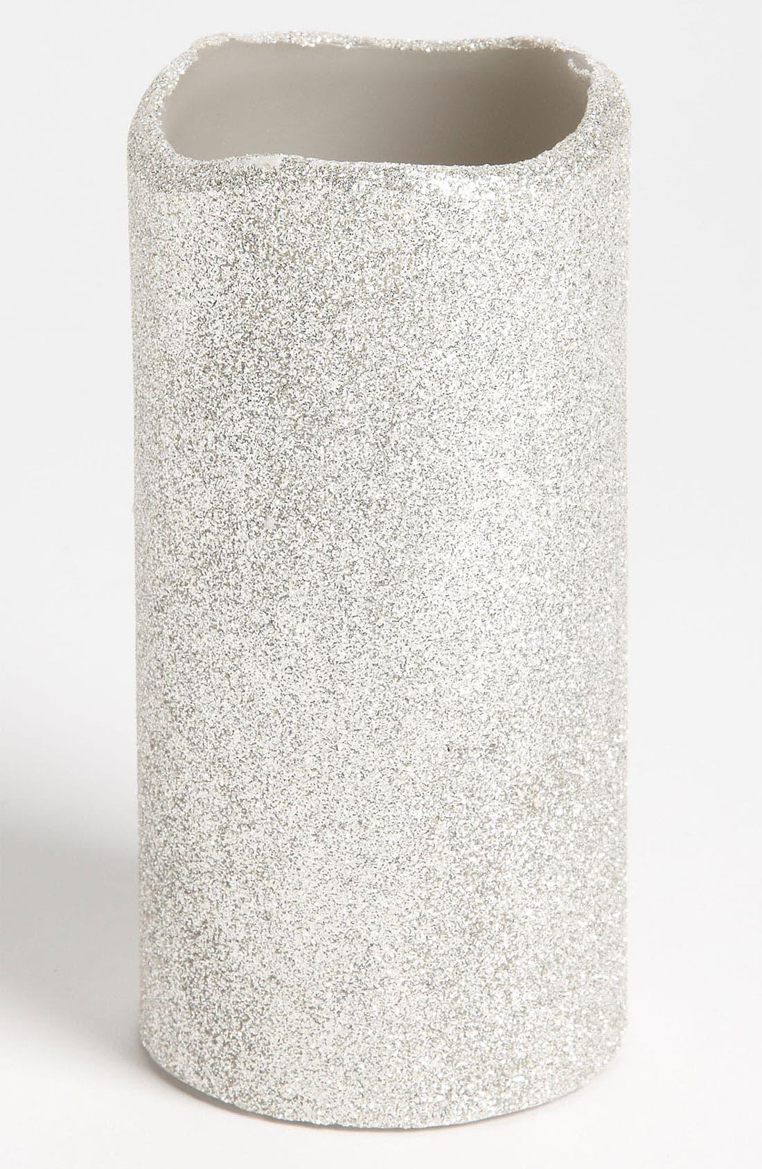 Alternate Image 1 Selected - Melrose Gifts Melted Glitter LED Candle