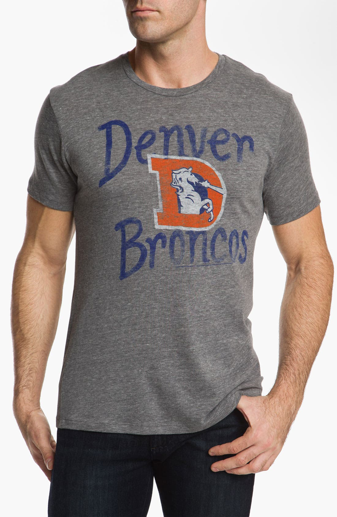 Alternate Image 1 Selected - Junk Food 'Denver Broncos' T-Shirt