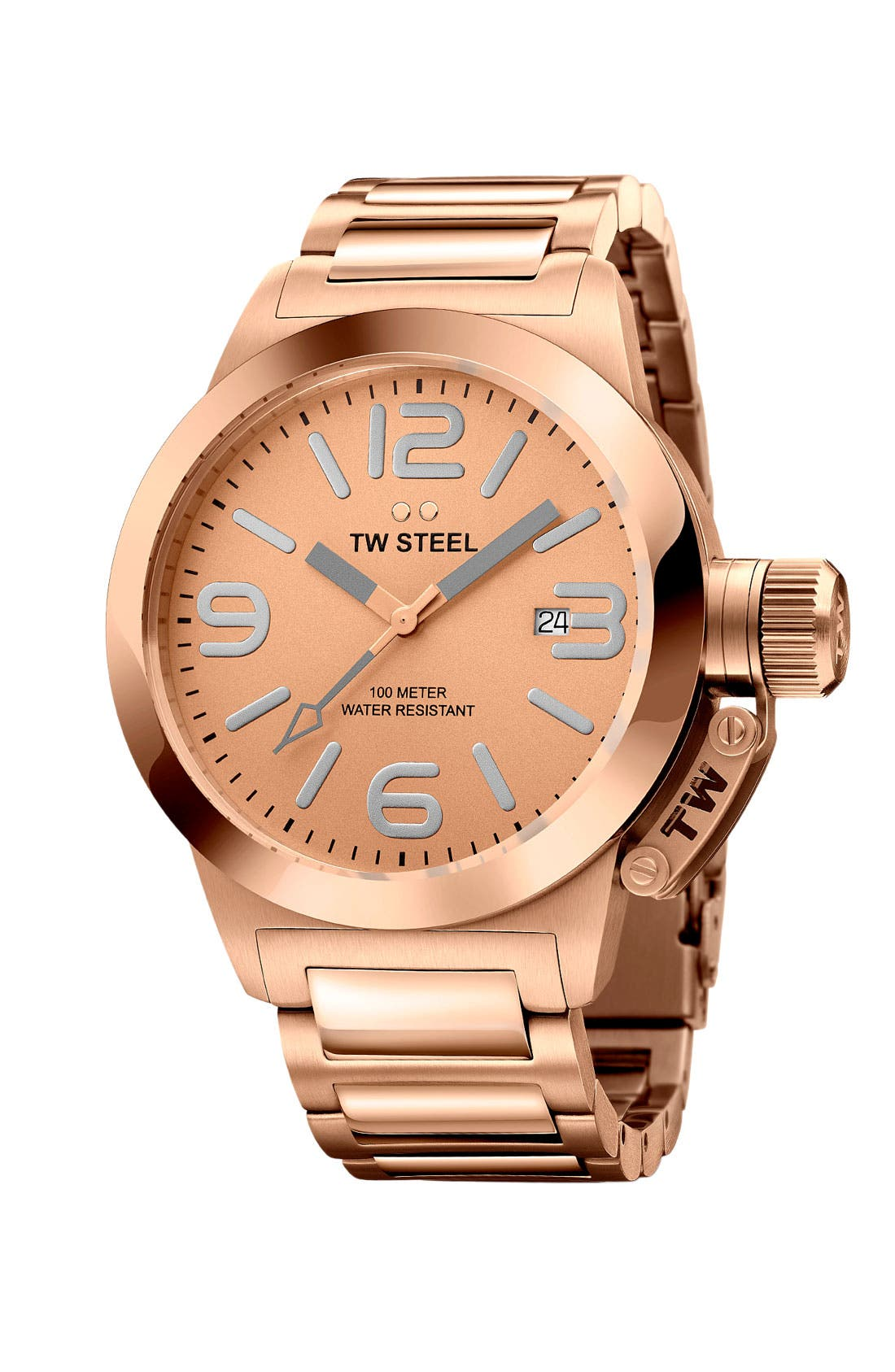 Main Image - TW Steel 'Canteen' Bracelet Watch