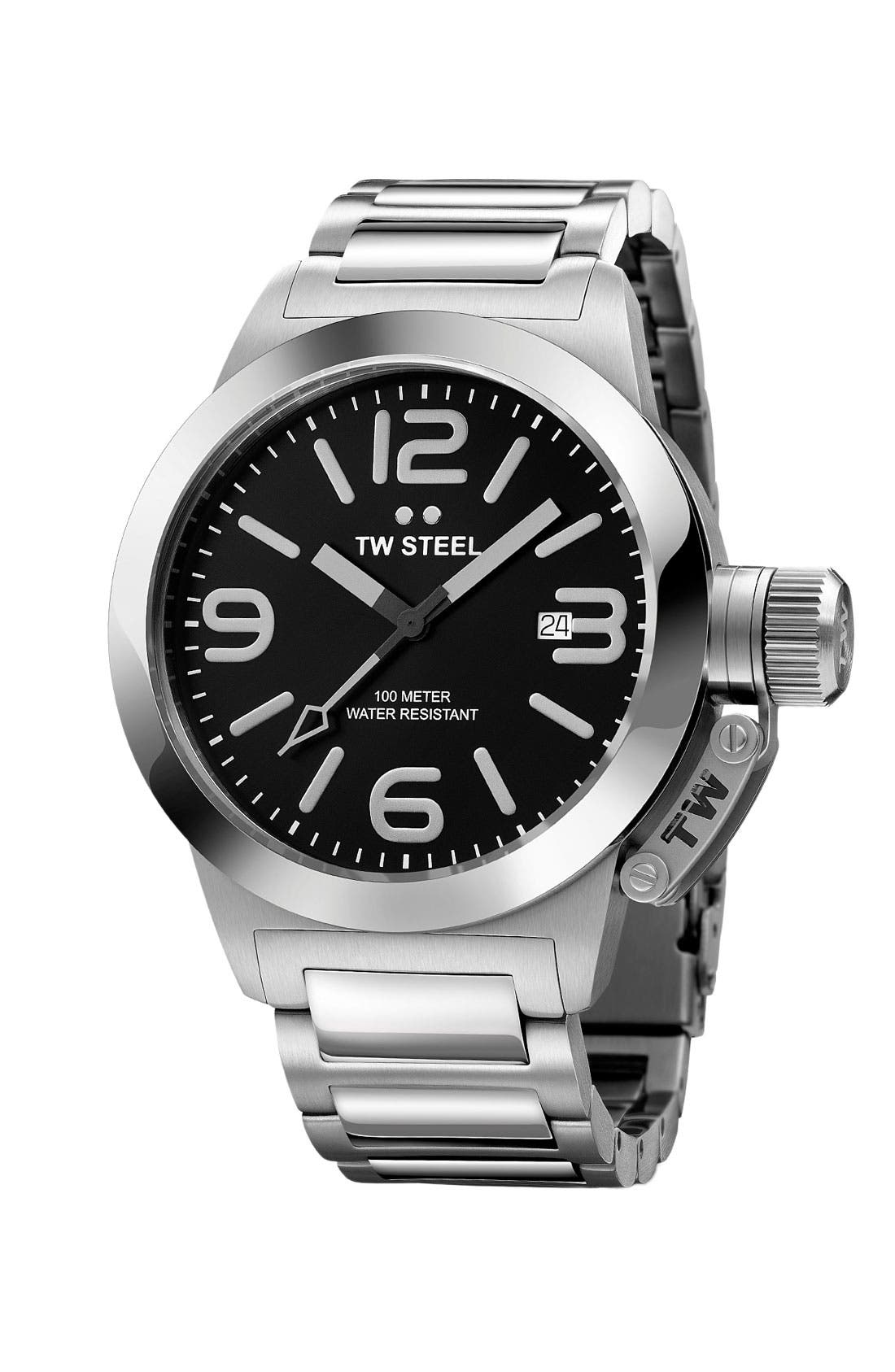 Alternate Image 1 Selected - TW Steel 'Canteen' Bracelet Watch