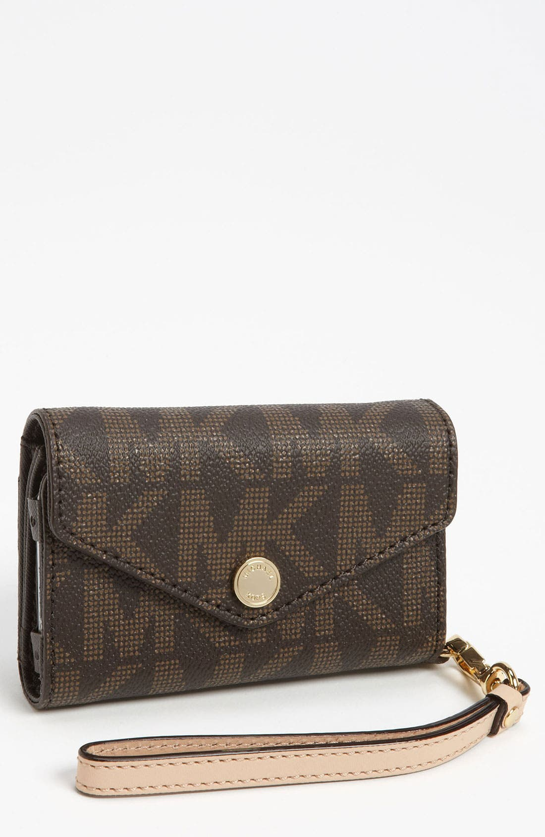 Alternate Image 1 Selected - MICHAEL Michael Kors iPhone Wristlet