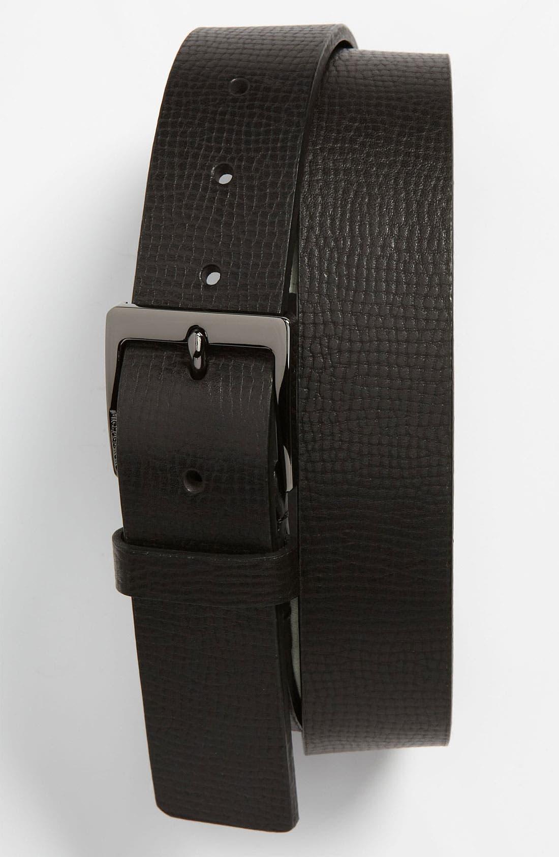 Alternate Image 1 Selected - Michael Kors Leather Belt