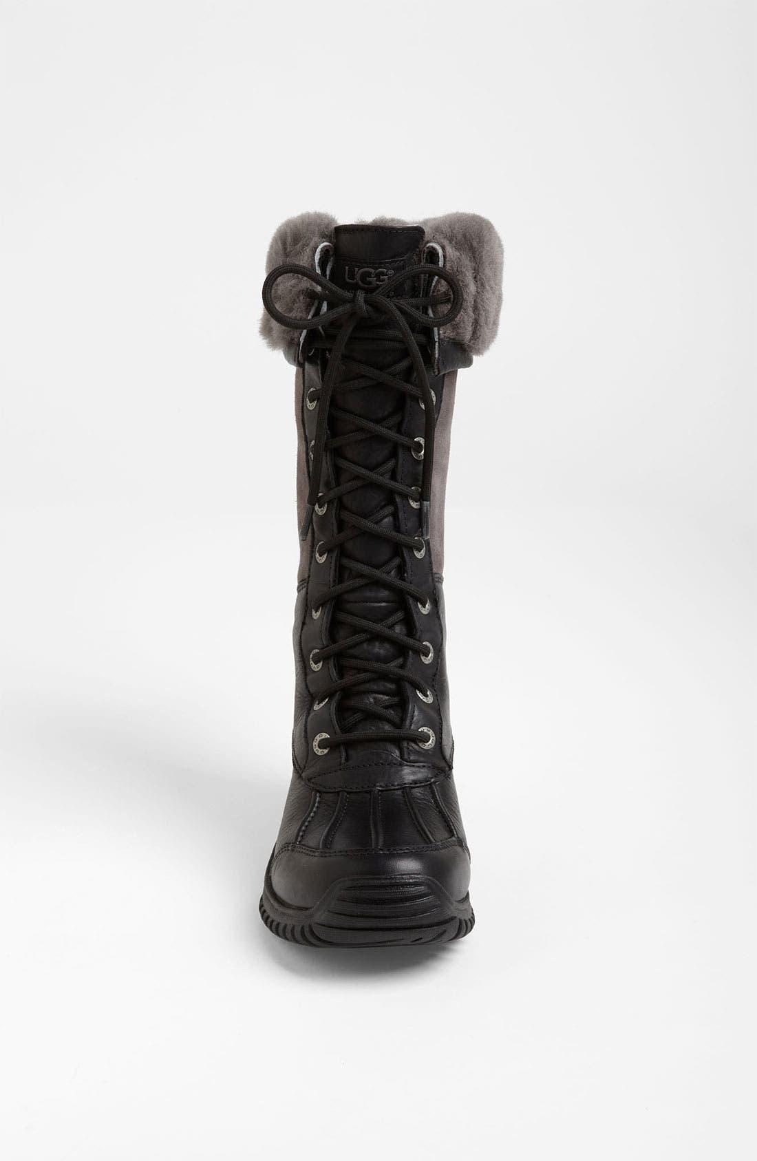 Adirondack Waterproof Tall Boot,                             Alternate thumbnail 4, color,                             New Black