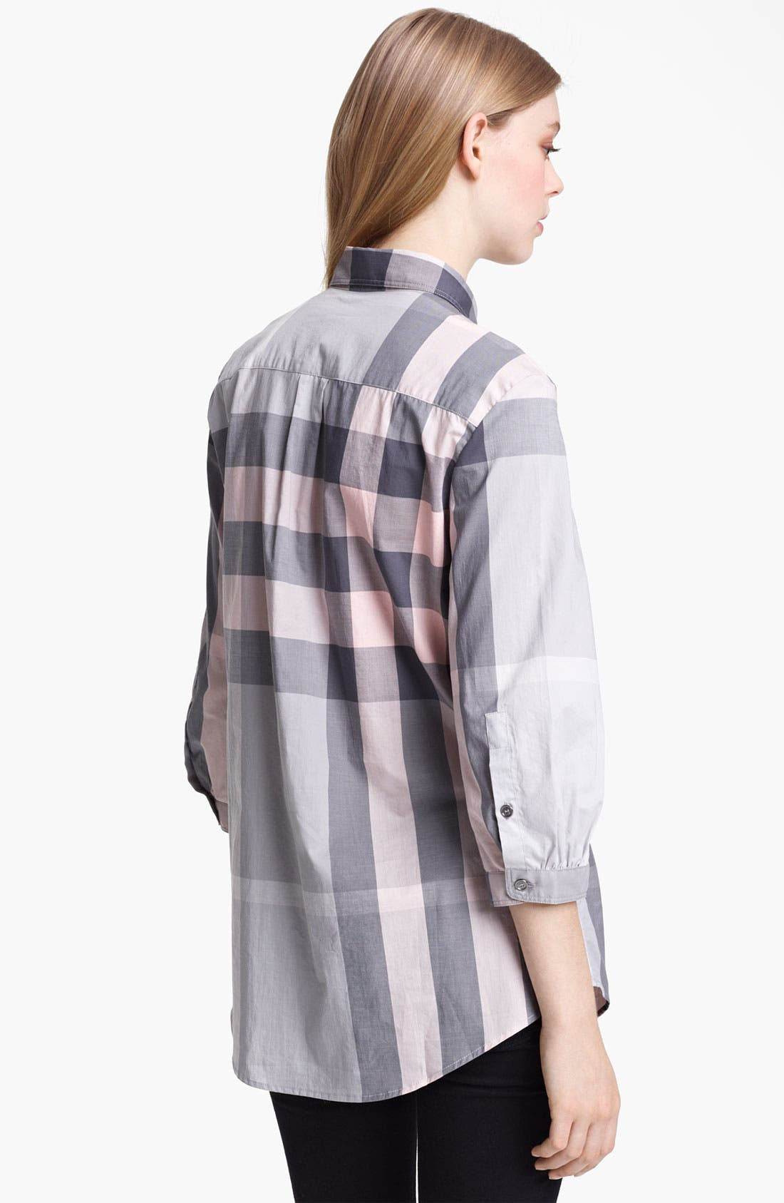 Alternate Image 3  - Burberry Brit Woven Check Tunic (Online Exclusive)