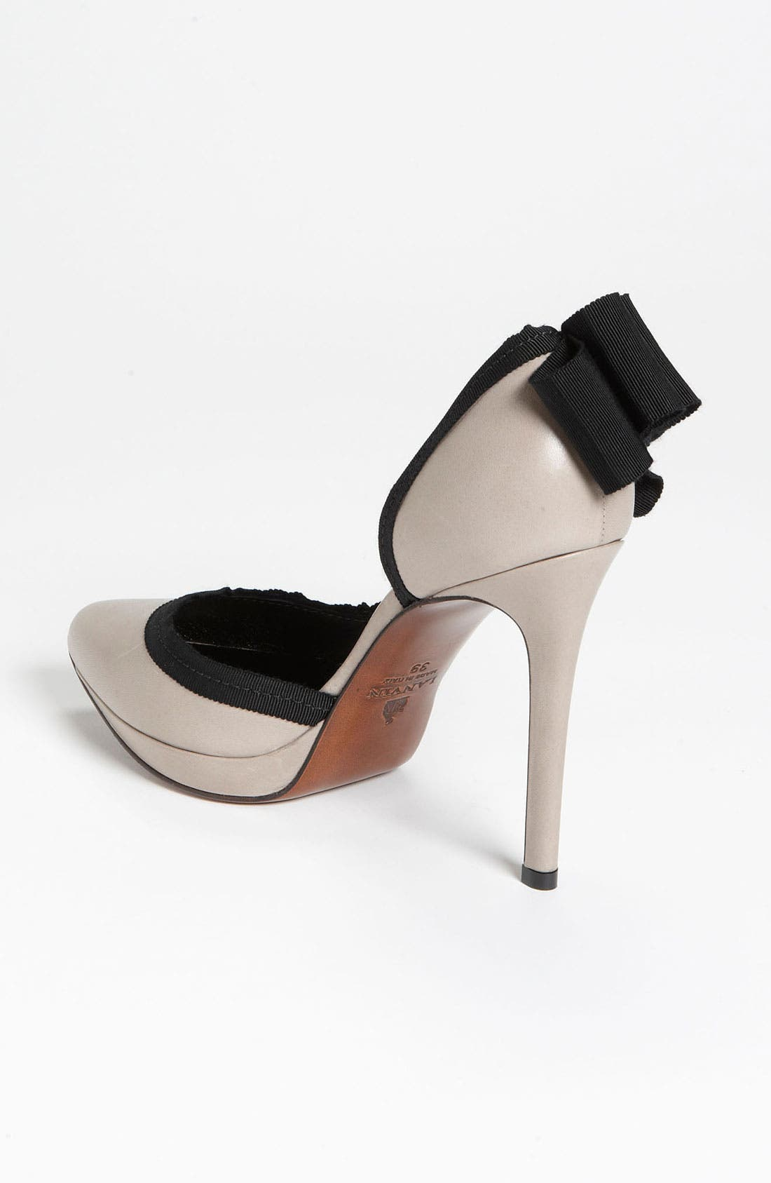 Alternate Image 2  - Lanvin Grosgrain Bow Pump