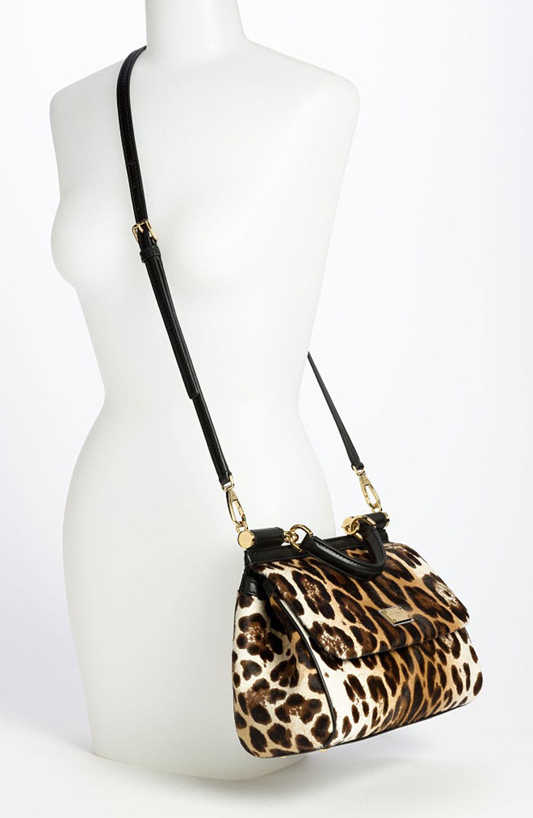 Alternate Image 2  - Dolce&Gabbana 'Miss Sicily' Genuine Calf Hair Satchel