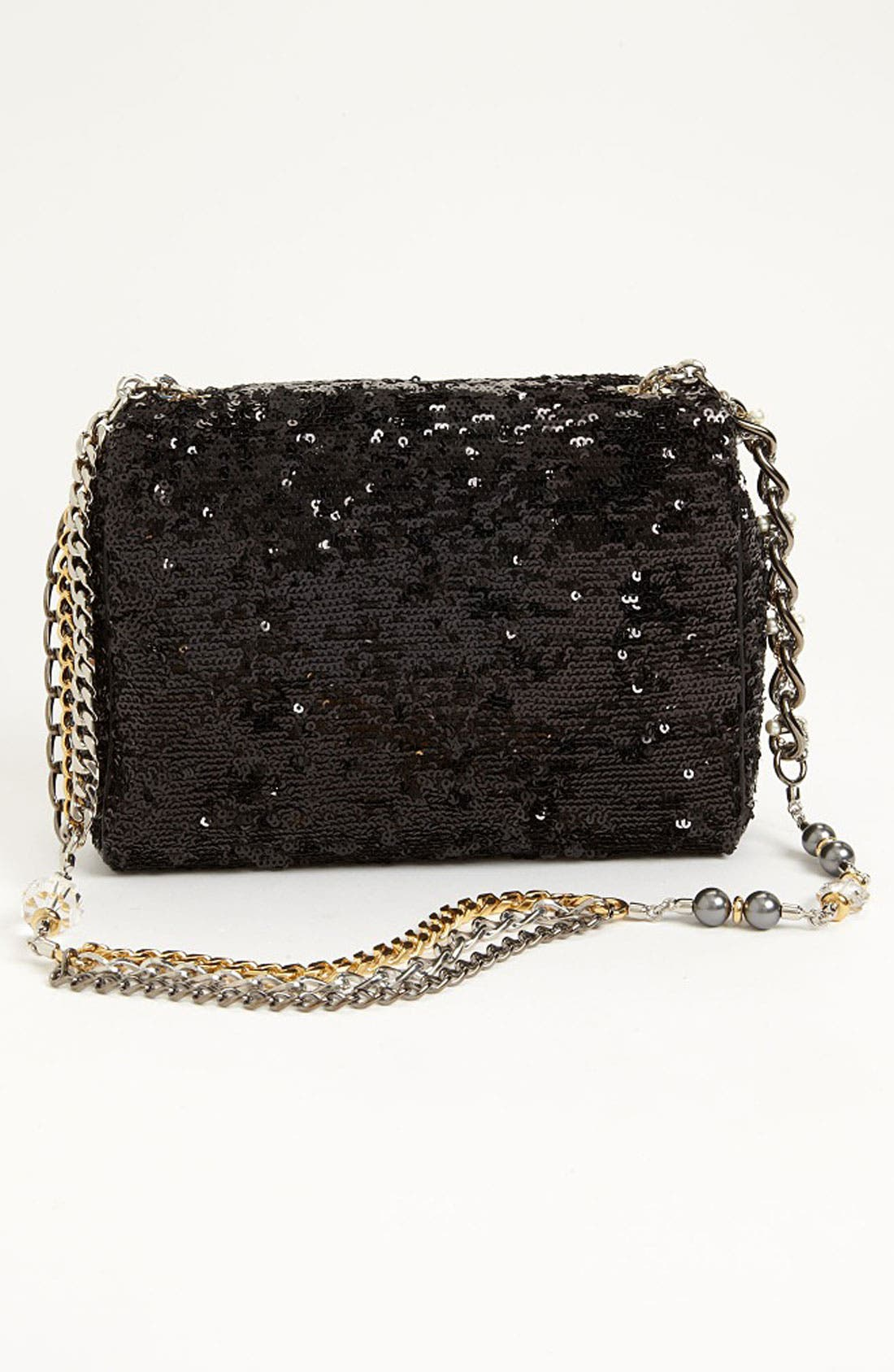 Alternate Image 4  - Dolce&Gabbana 'Miss Charles' Sequin Shoulder Bag